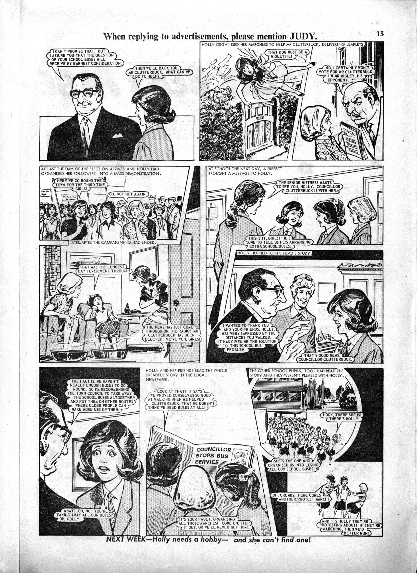 Read online Judy comic -  Issue #223 - 15