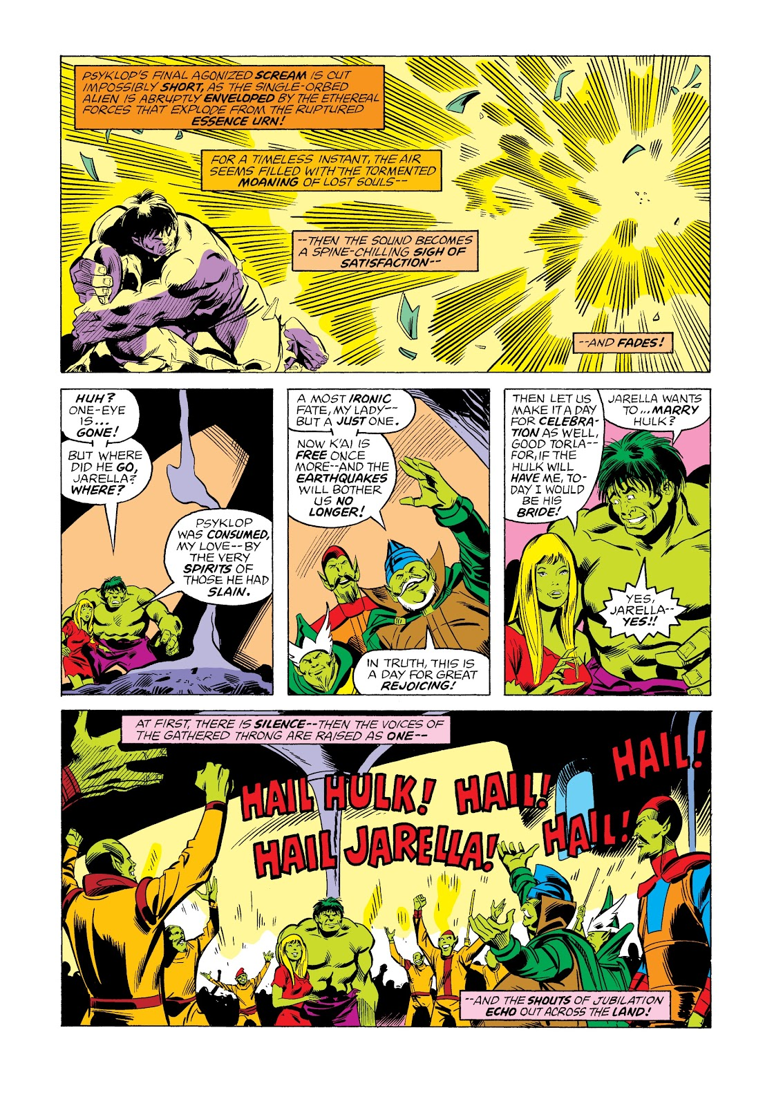 Read online Marvel Masterworks: The Incredible Hulk comic -  Issue # TPB 12 (Part 2) - 70