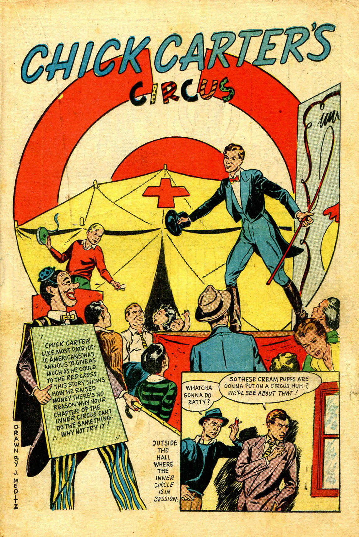 Read online Shadow Comics comic -  Issue #43 - 35