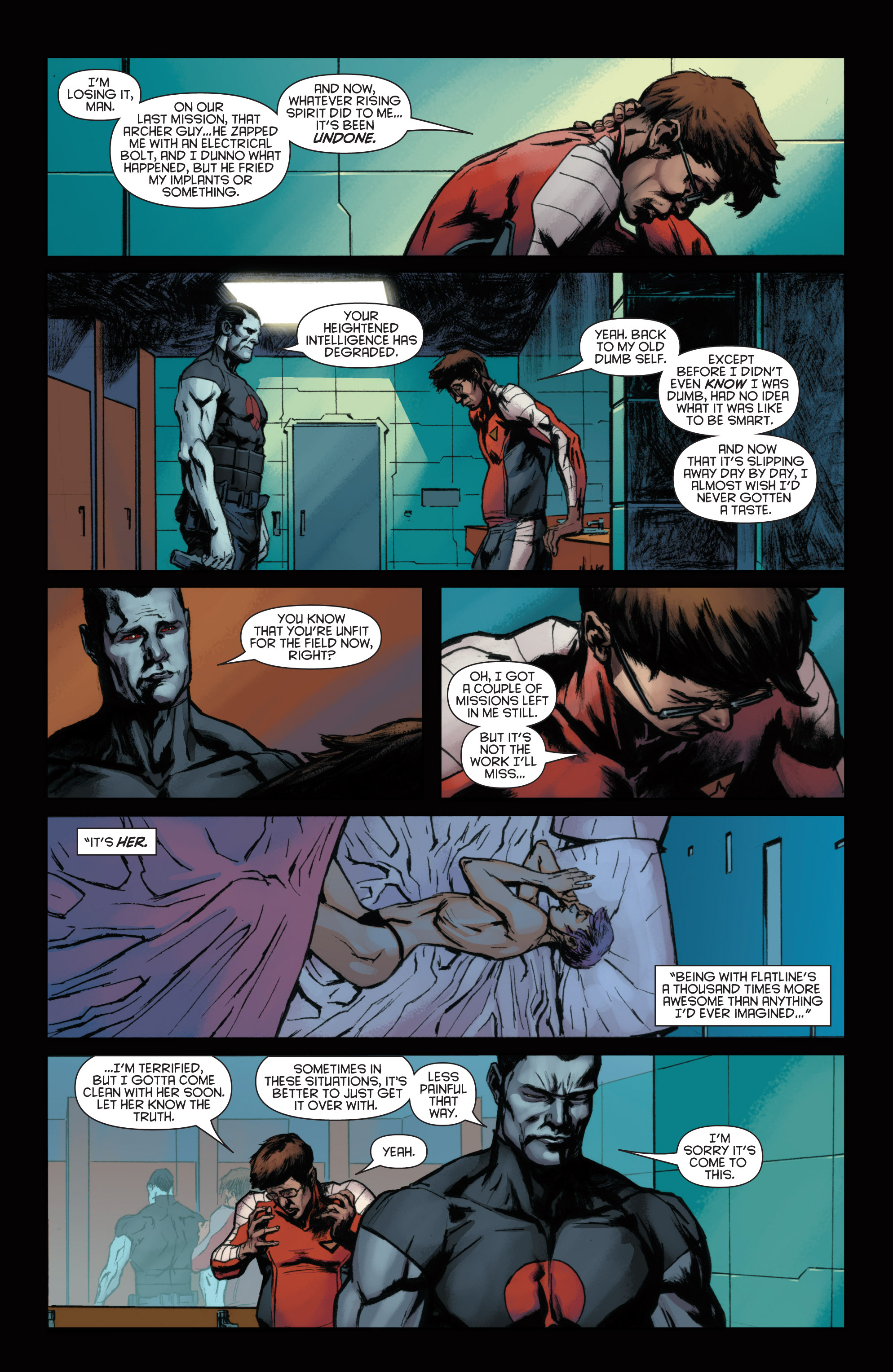 Read online Bloodshot and H.A.R.D.Corps comic -  Issue #22 - 5
