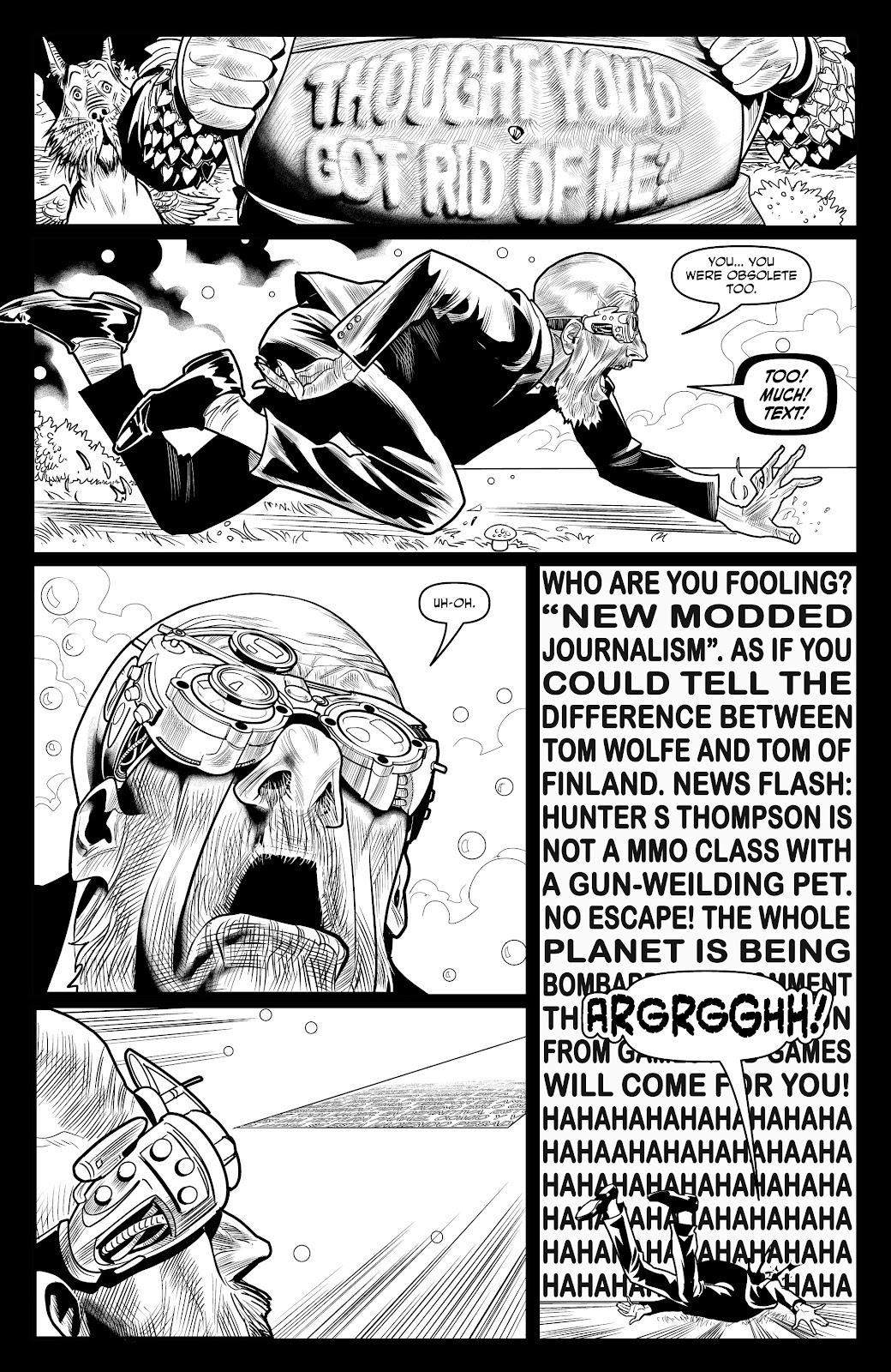 Read online Alan Moore's Cinema Purgatorio comic -  Issue #18 - 29