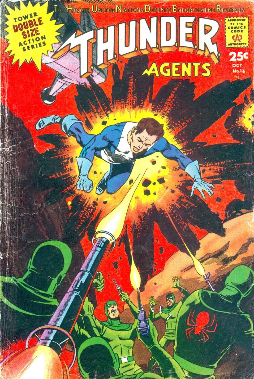 T.H.U.N.D.E.R. Agents (1965) 16 Page 1