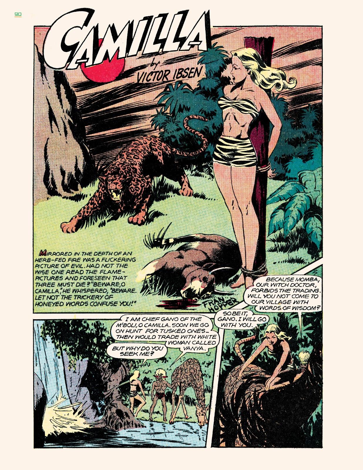 Read online Jungle Girls comic -  Issue # TPB (Part 1) - 90