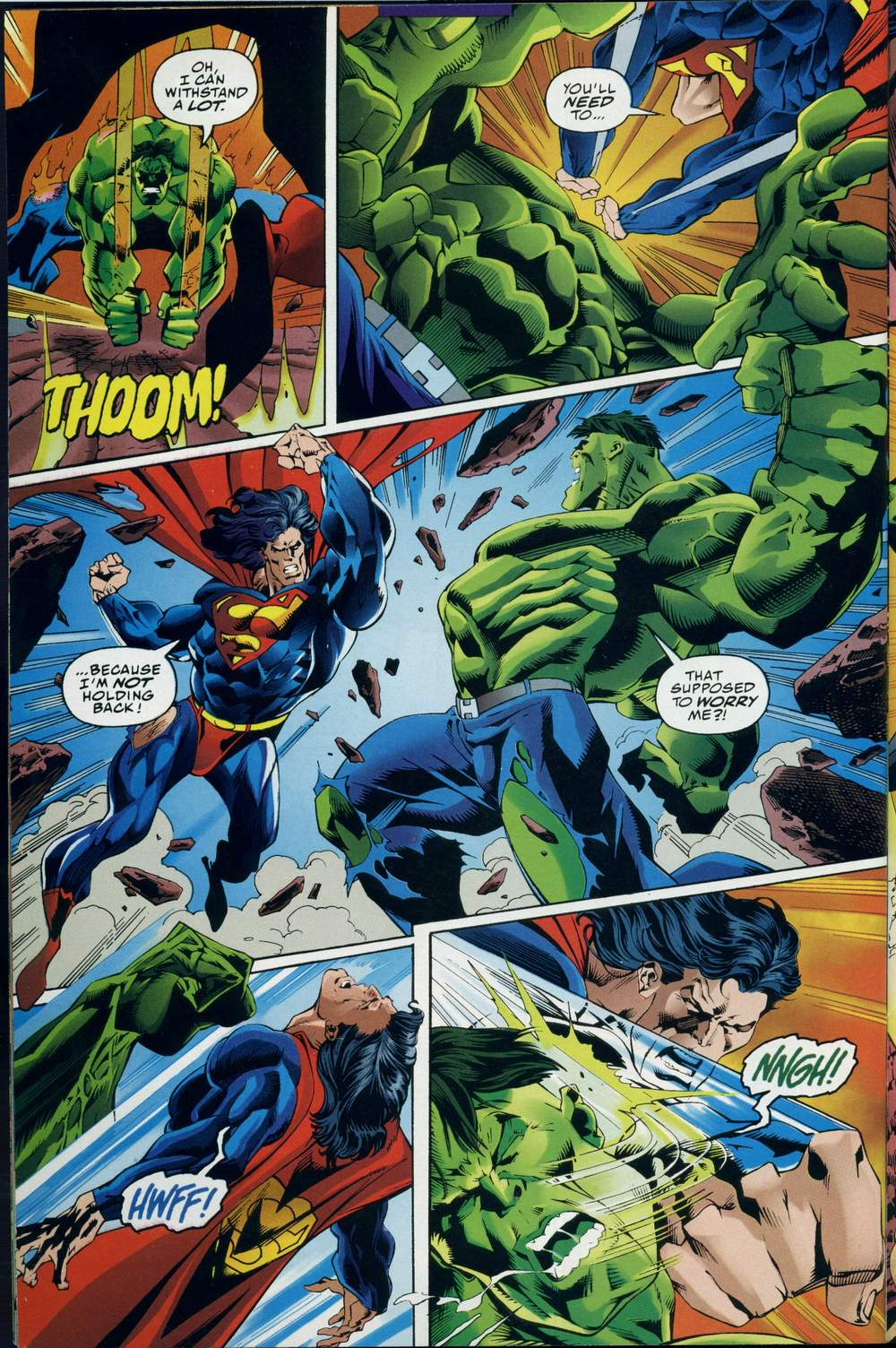 Read online DC Versus Marvel Comics comic -  Issue #3 - 31