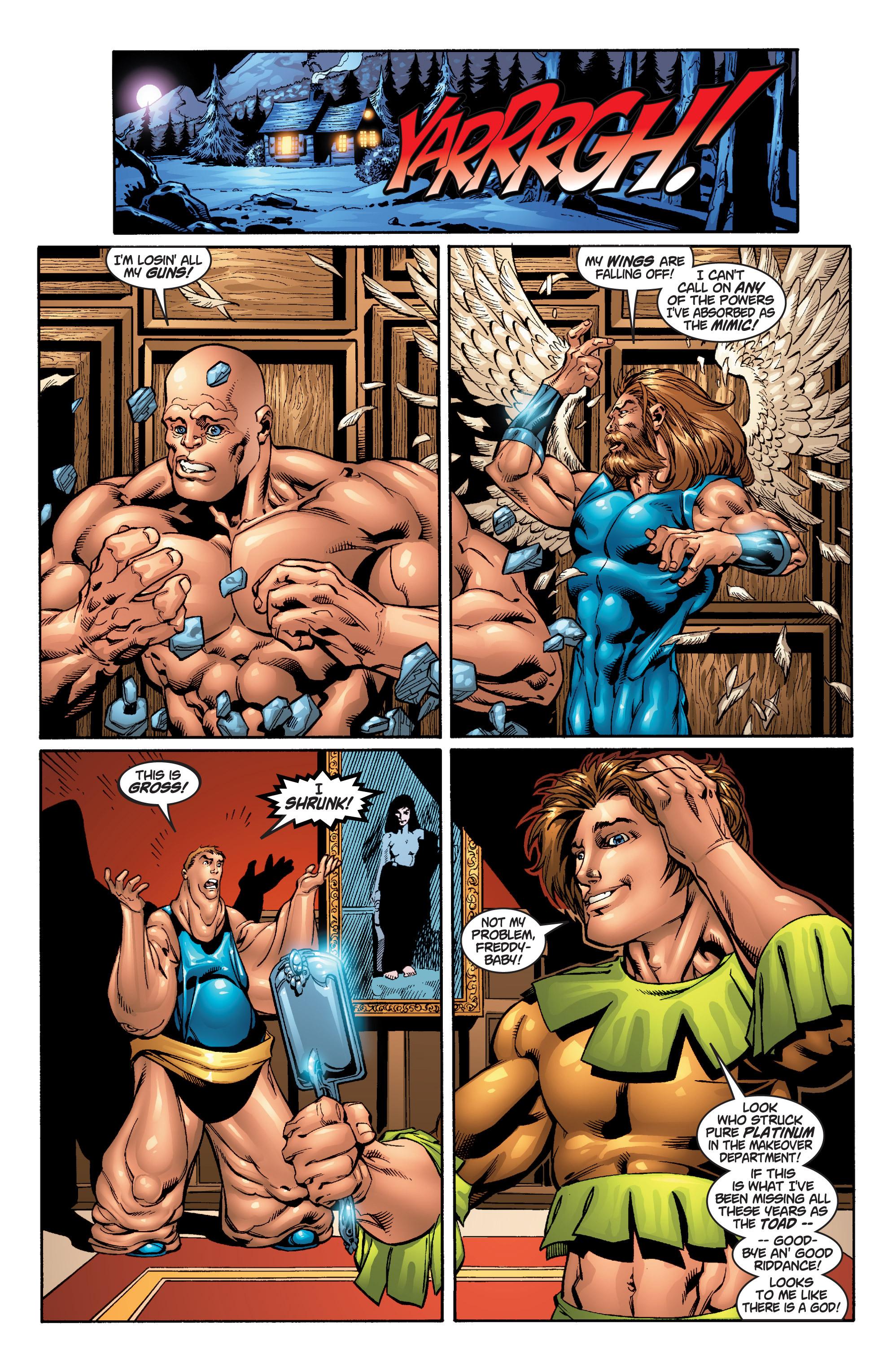 Read online Uncanny X-Men (1963) comic -  Issue #379 - 19