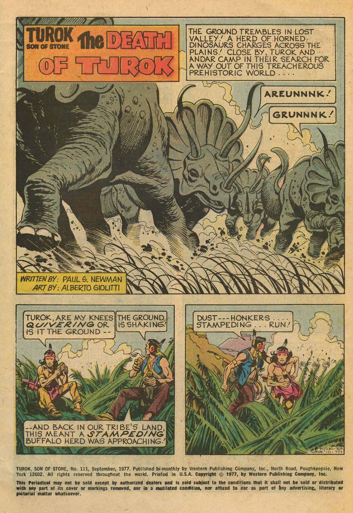 Read online Turok, Son of Stone comic -  Issue #111 - 3
