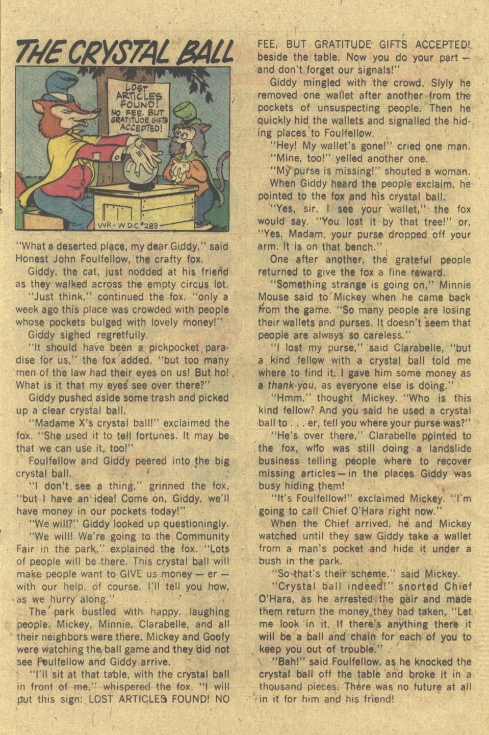 Walt Disney's Comics and Stories issue 430 - Page 15