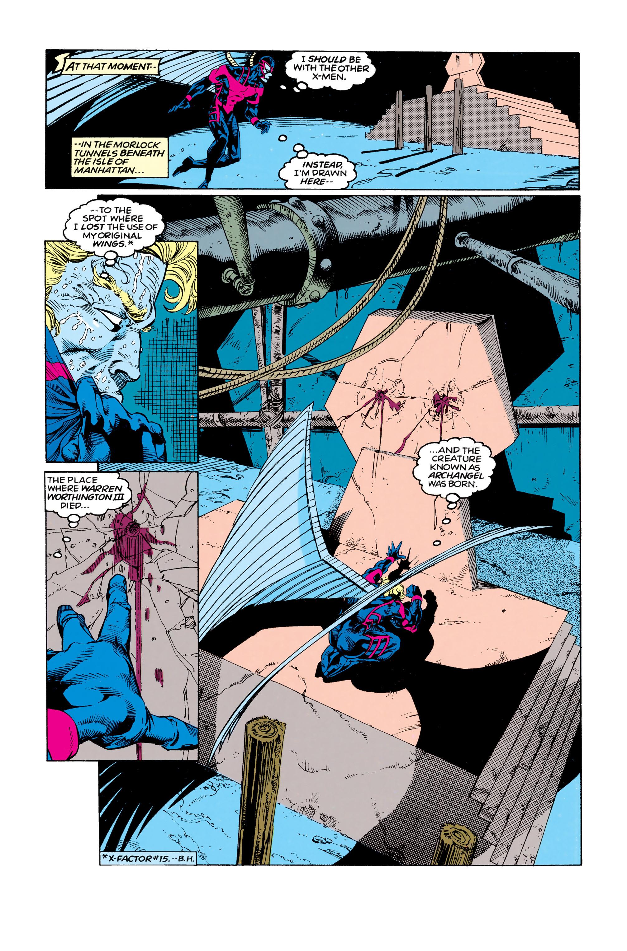 Read online Uncanny X-Men (1963) comic -  Issue #292 - 7