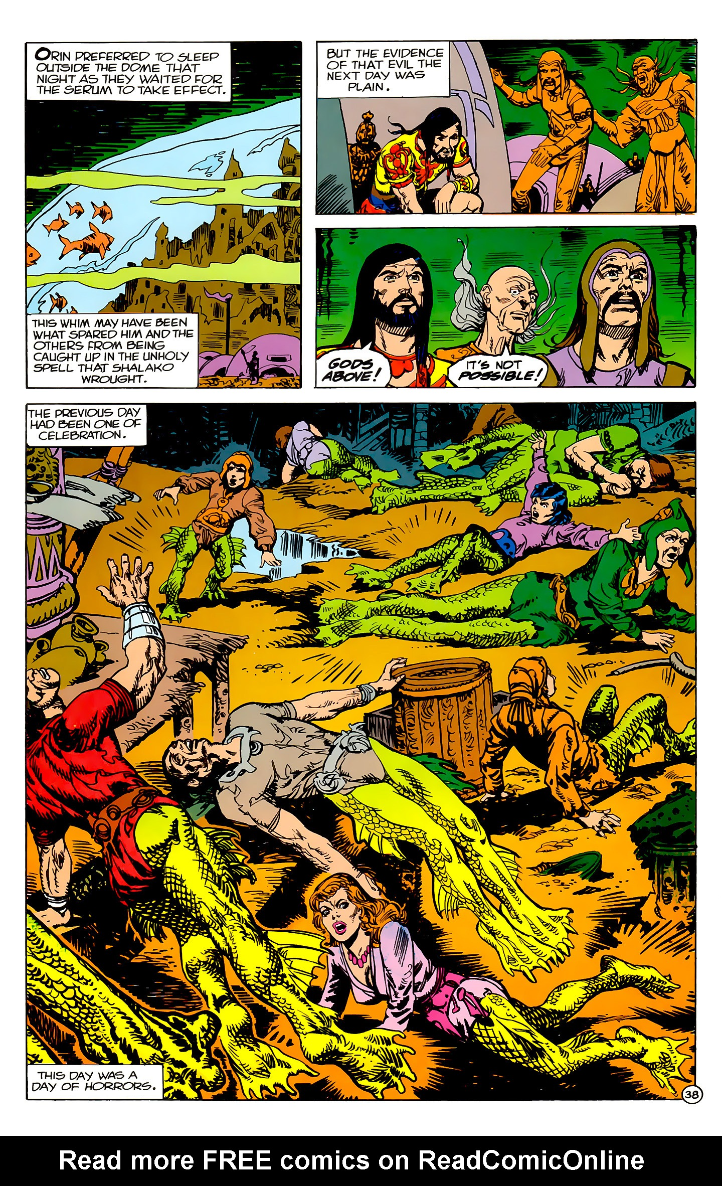 Read online Atlantis Chronicles comic -  Issue #2 - 38