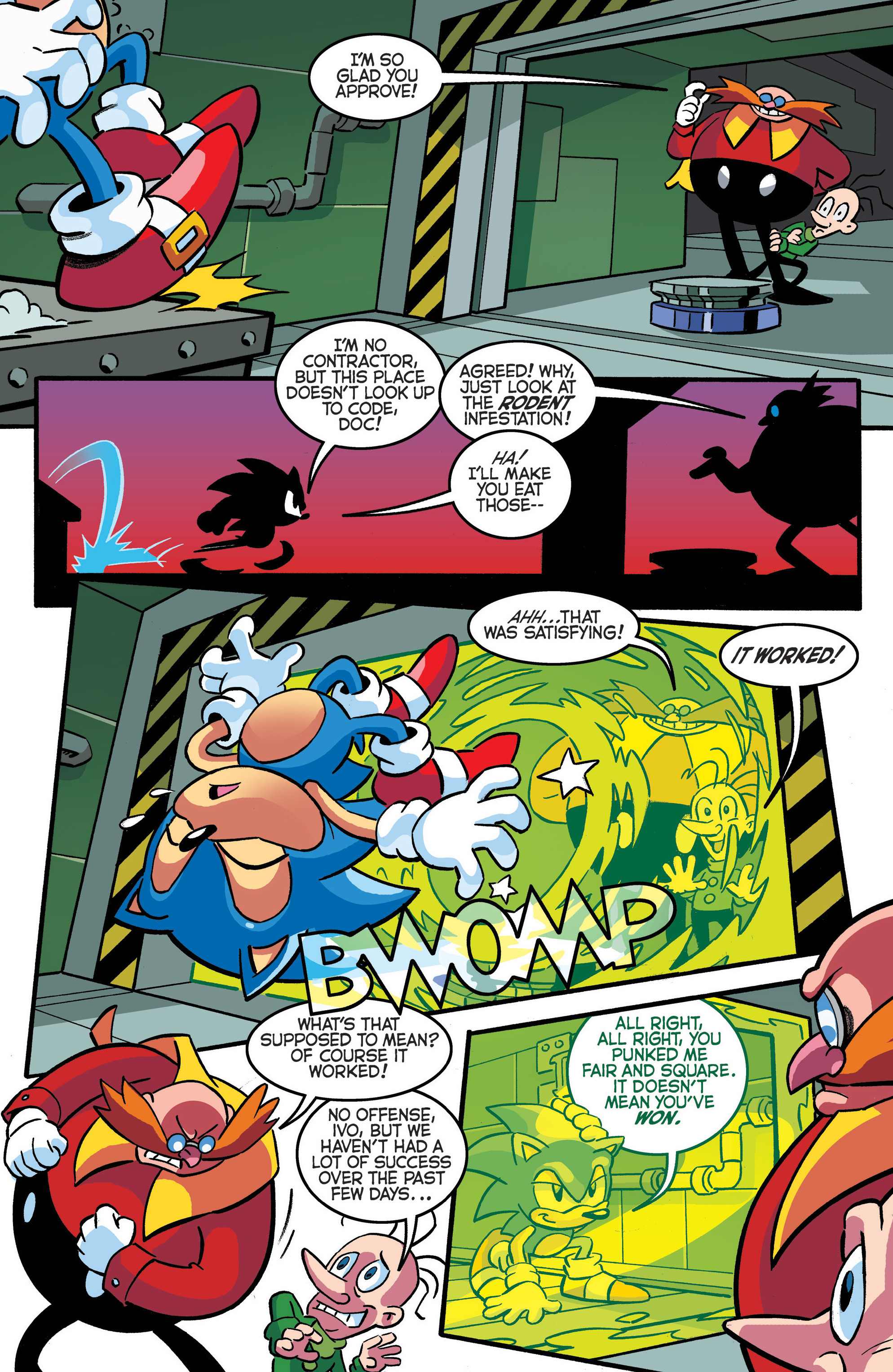 Read online Sonic The Hedgehog comic -  Issue #288 - 4