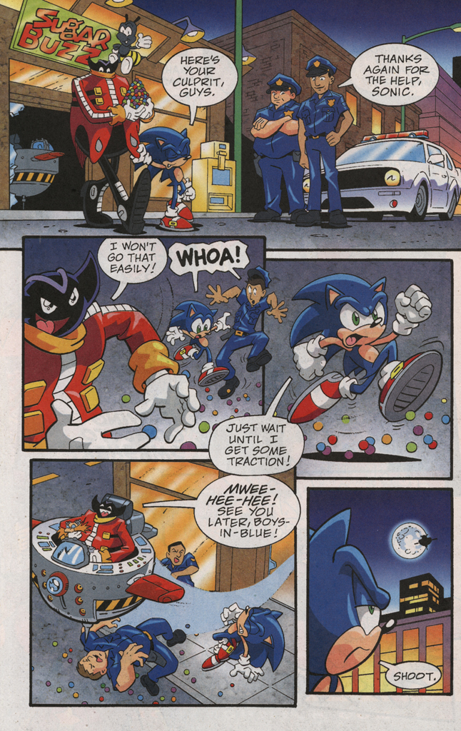 Read online Sonic X comic -  Issue #31 - 28