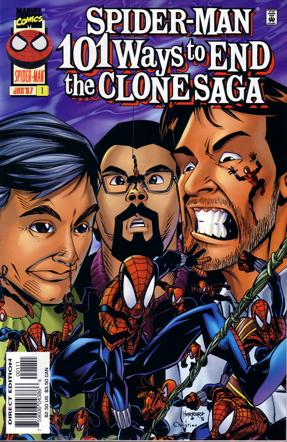 Read online 101 Ways to End the Clone Saga comic -  Issue #101 Ways to End the Clone Saga Full - 2
