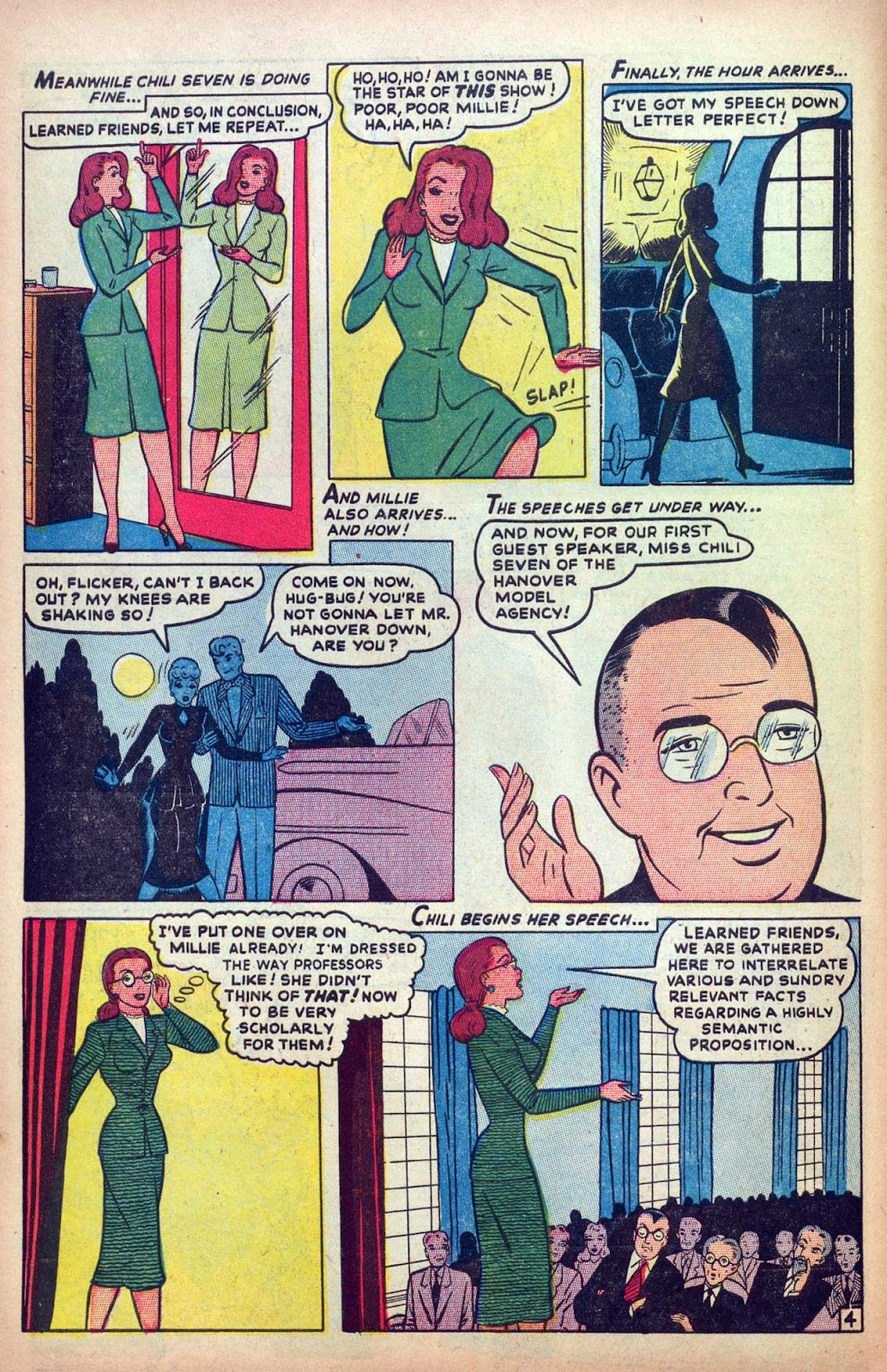 Read online Millie the Model comic -  Issue #13 - 6