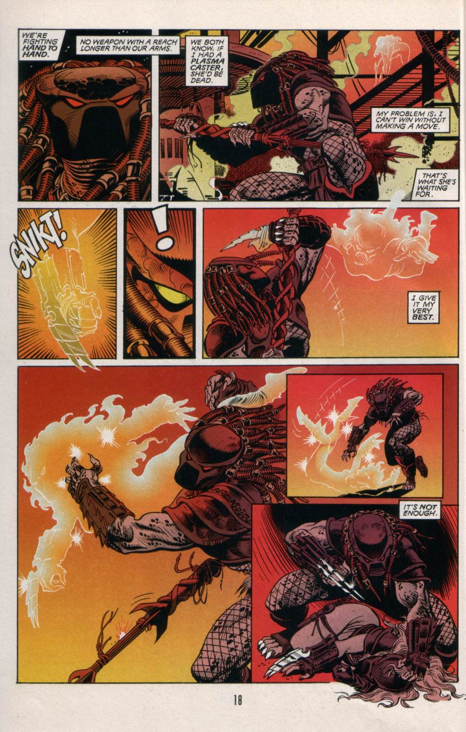 Read online Aliens/Predator: The Deadliest of the Species comic -  Issue #5 - 19
