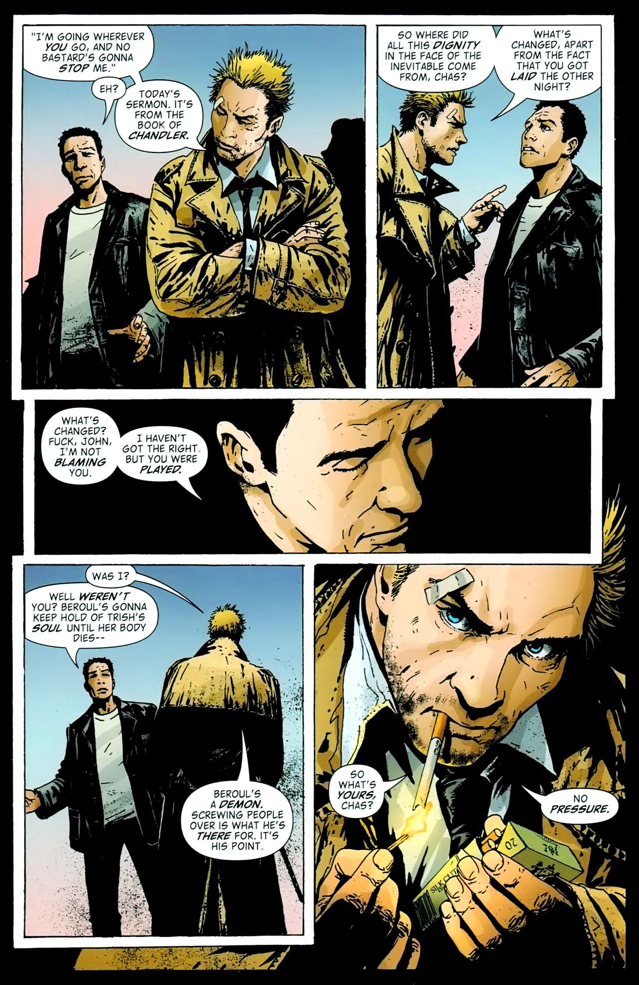 Read online John Constantine Hellblazer: All His Engines comic -  Issue # Full - 96