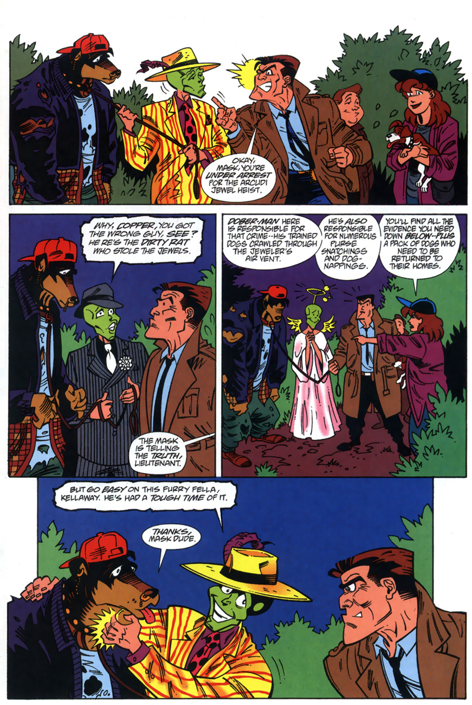 Read online Adventures Of The Mask comic -  Issue #3 - 23