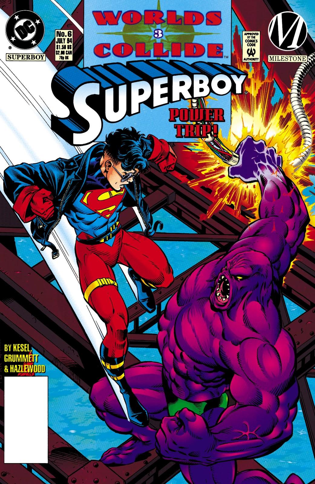 Superboy (1994) 6 Page 1