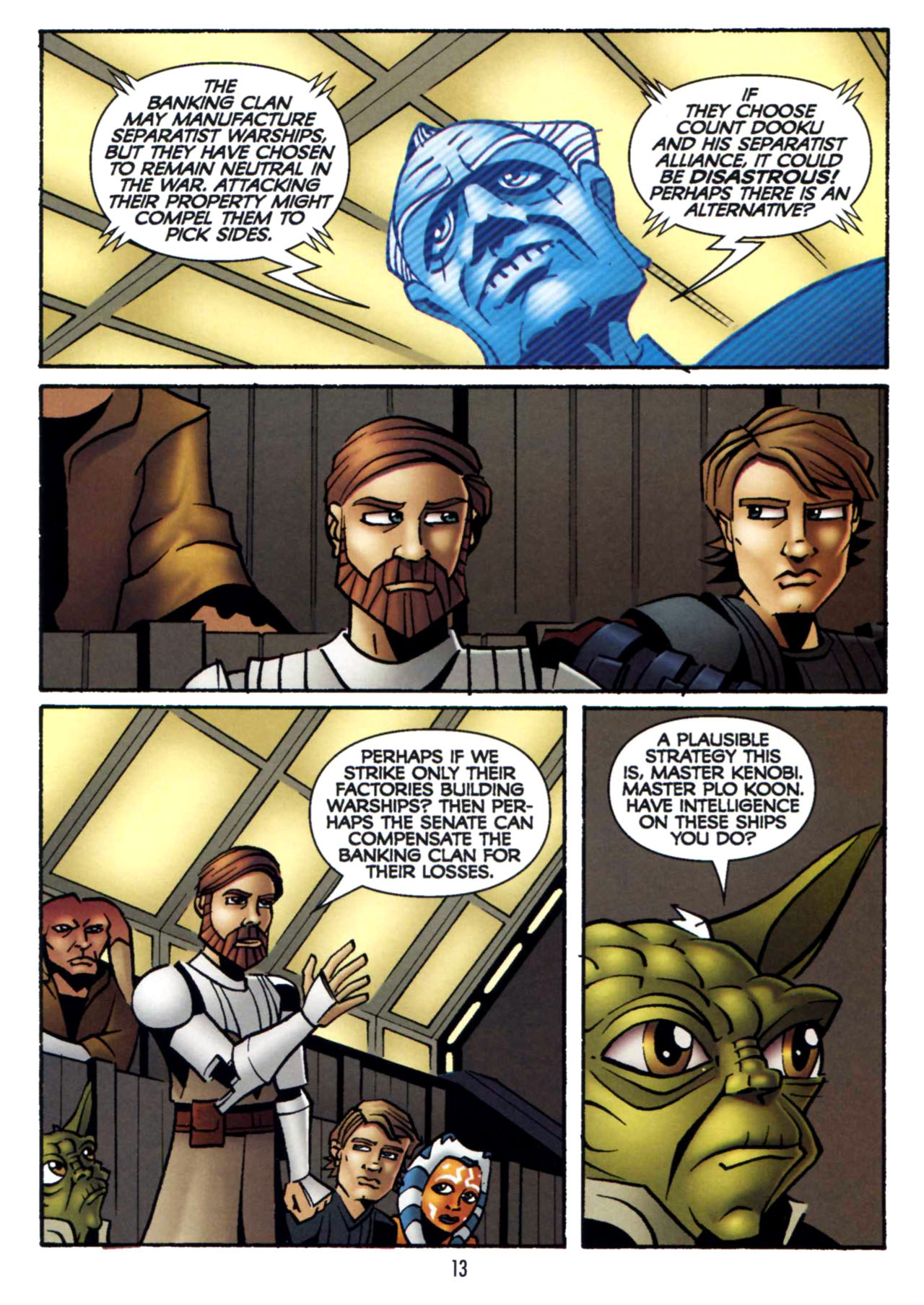Read online Star Wars: The Clone Wars - Shipyards of Doom comic -  Issue # Full - 12