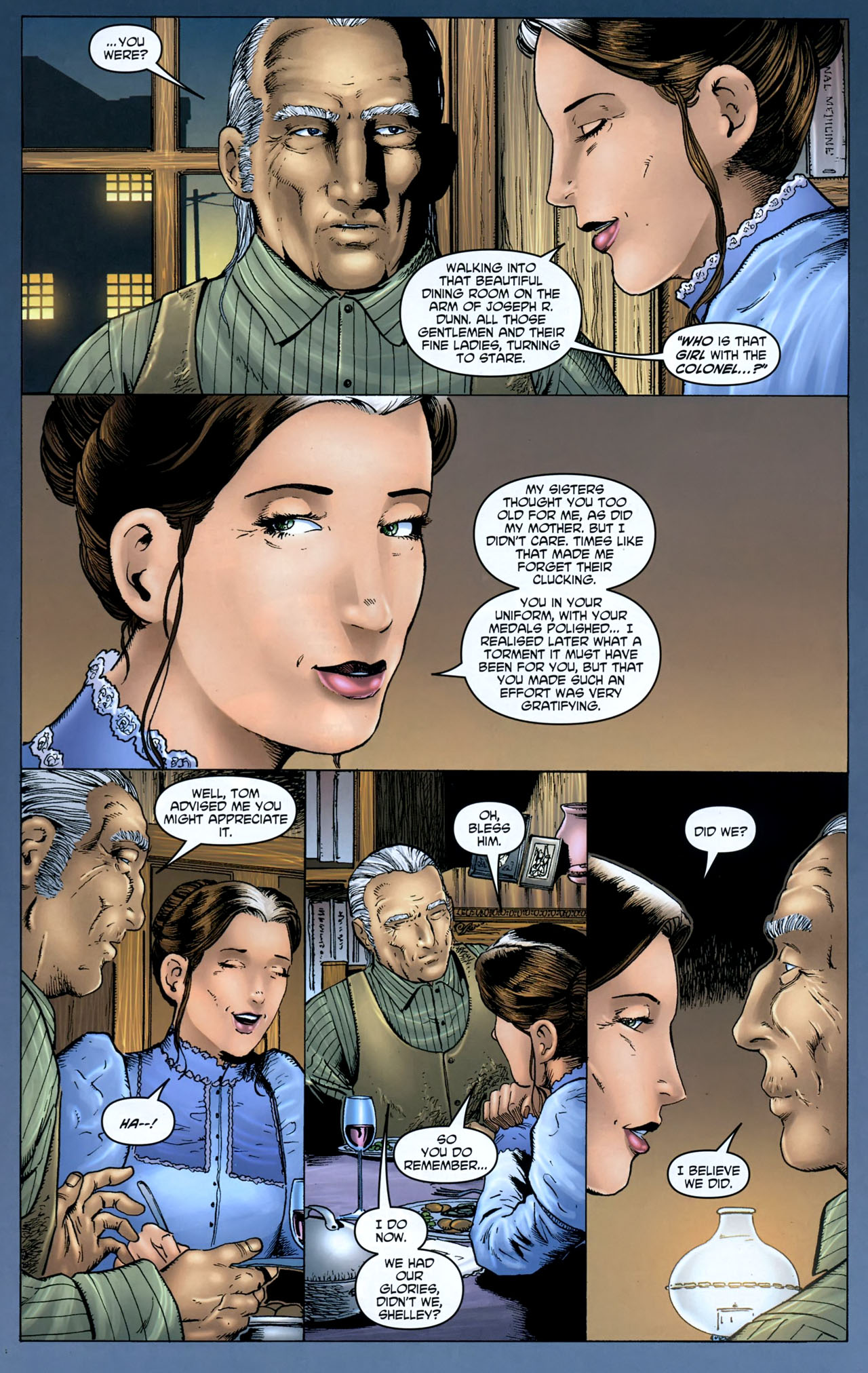Read online Garth Ennis' Streets of Glory comic -  Issue #5 - 13