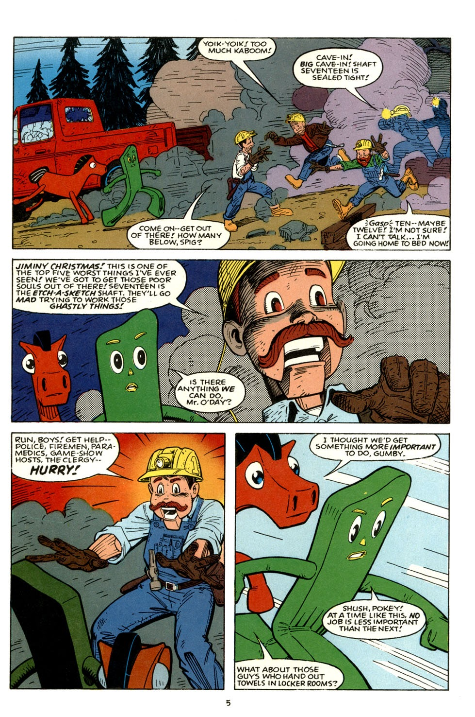 Gumby's Winter Fun Special issue Full - Page 7
