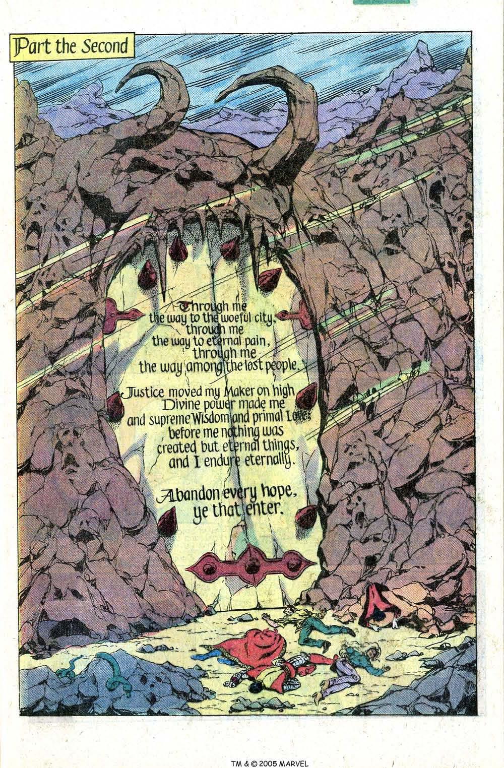 Read online Uncanny X-Men (1963) comic -  Issue # _Annual 4 - 17