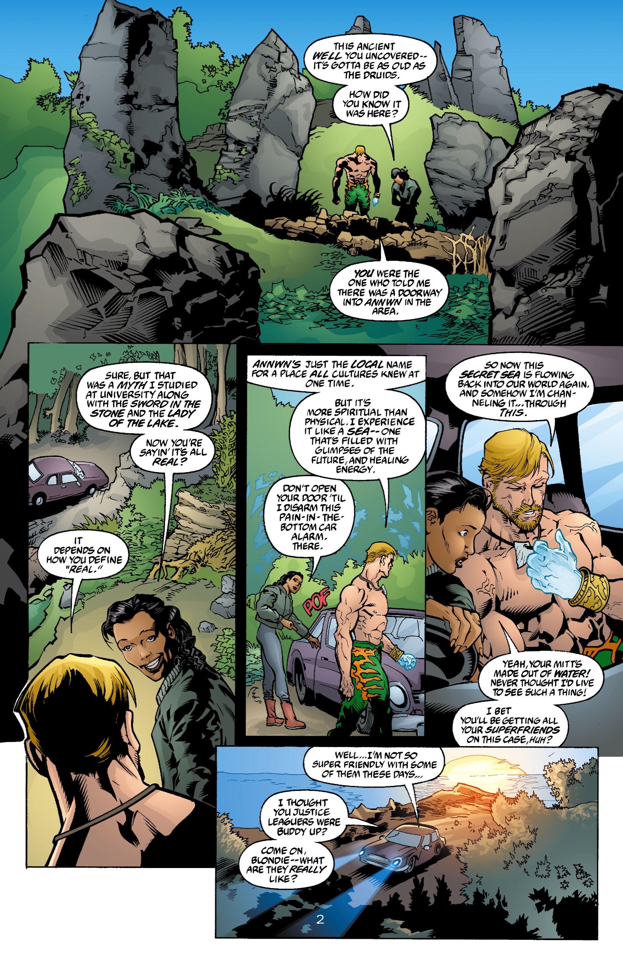 Read online Aquaman (2003) comic -  Issue #4 - 3