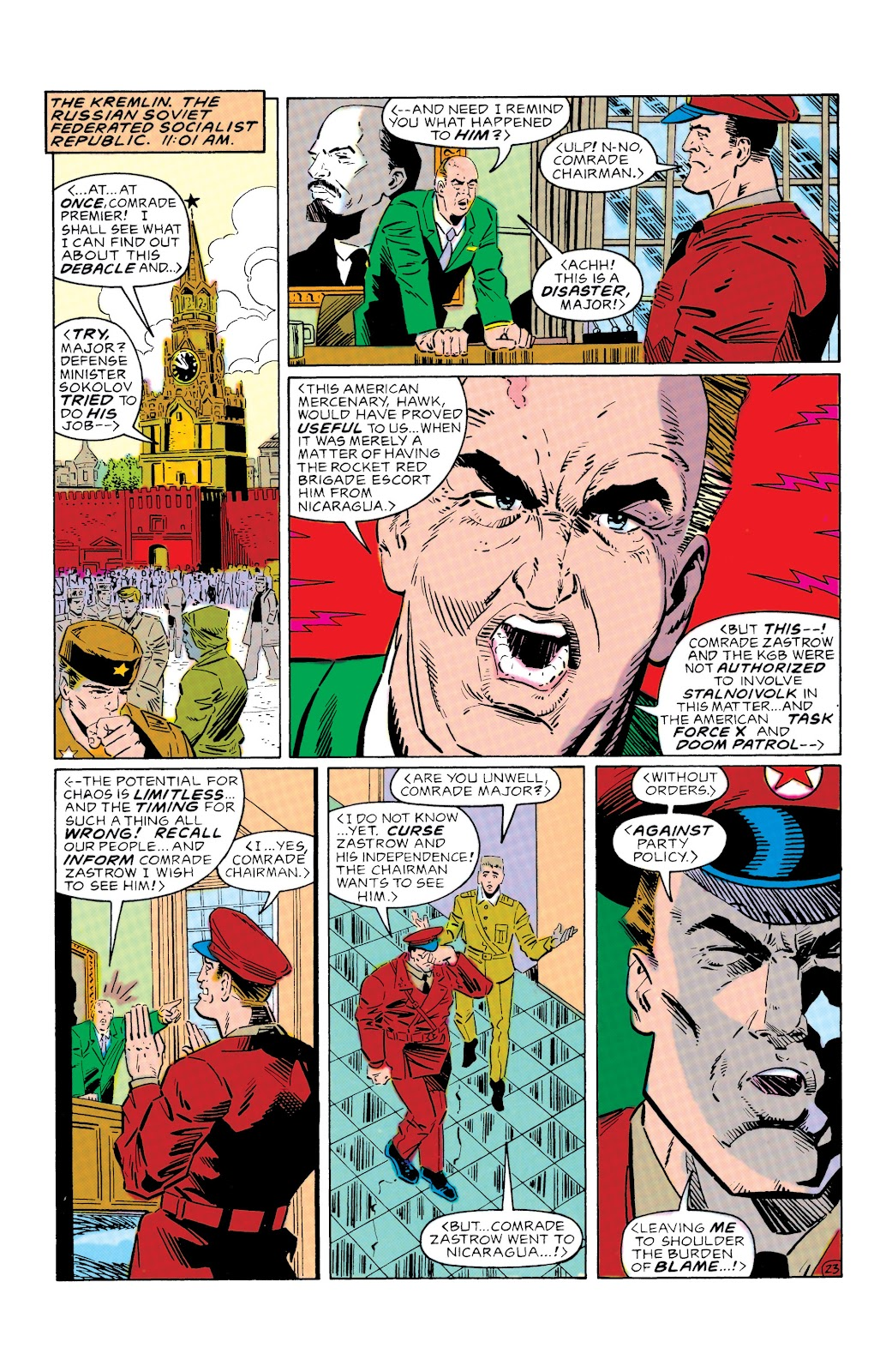 Doom Patrol and Suicide Squad Special issue Special 1 - Page 23