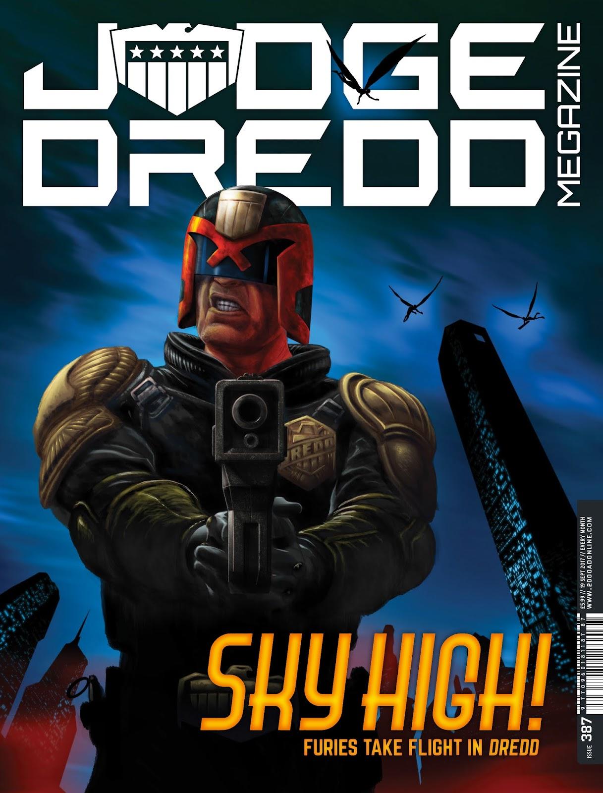 Judge Dredd Megazine (Vol. 5) issue 387 - Page 1