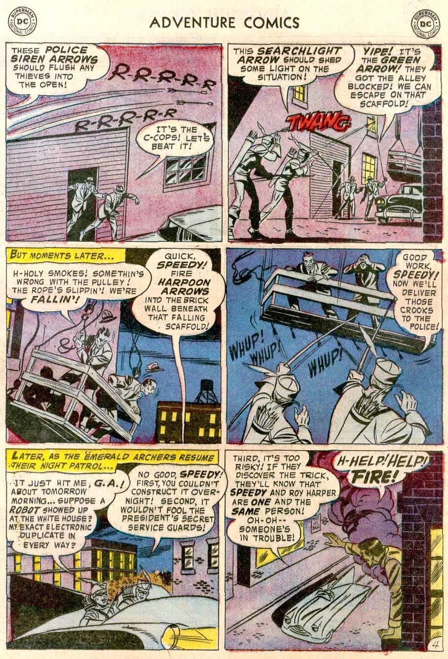 Read online Adventure Comics (1938) comic -  Issue #244 - 21