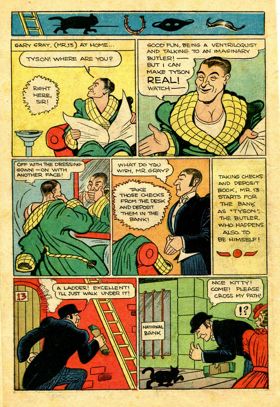 Read online Shadow Comics comic -  Issue #43 - 18