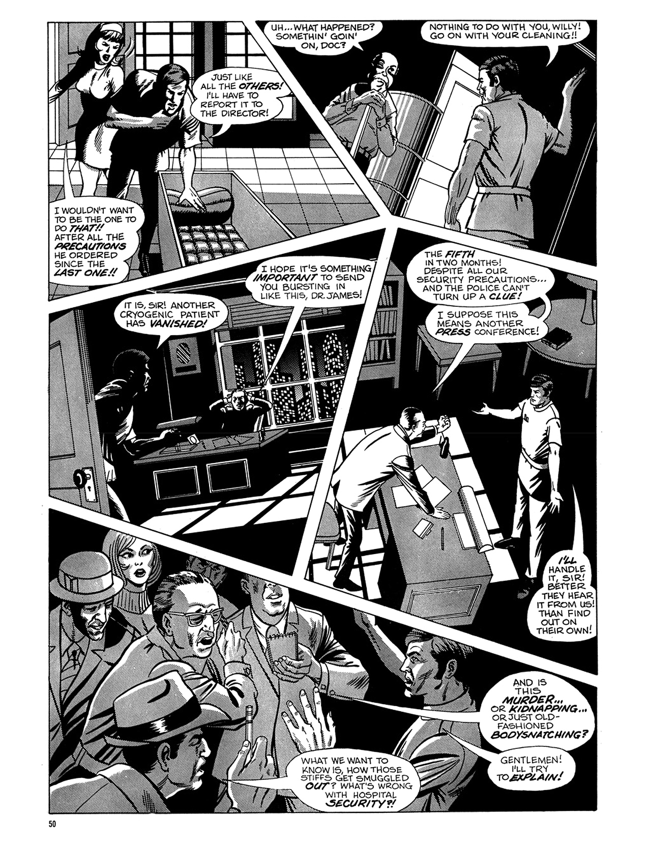 Read online Eerie Archives comic -  Issue # TPB 6 - 51