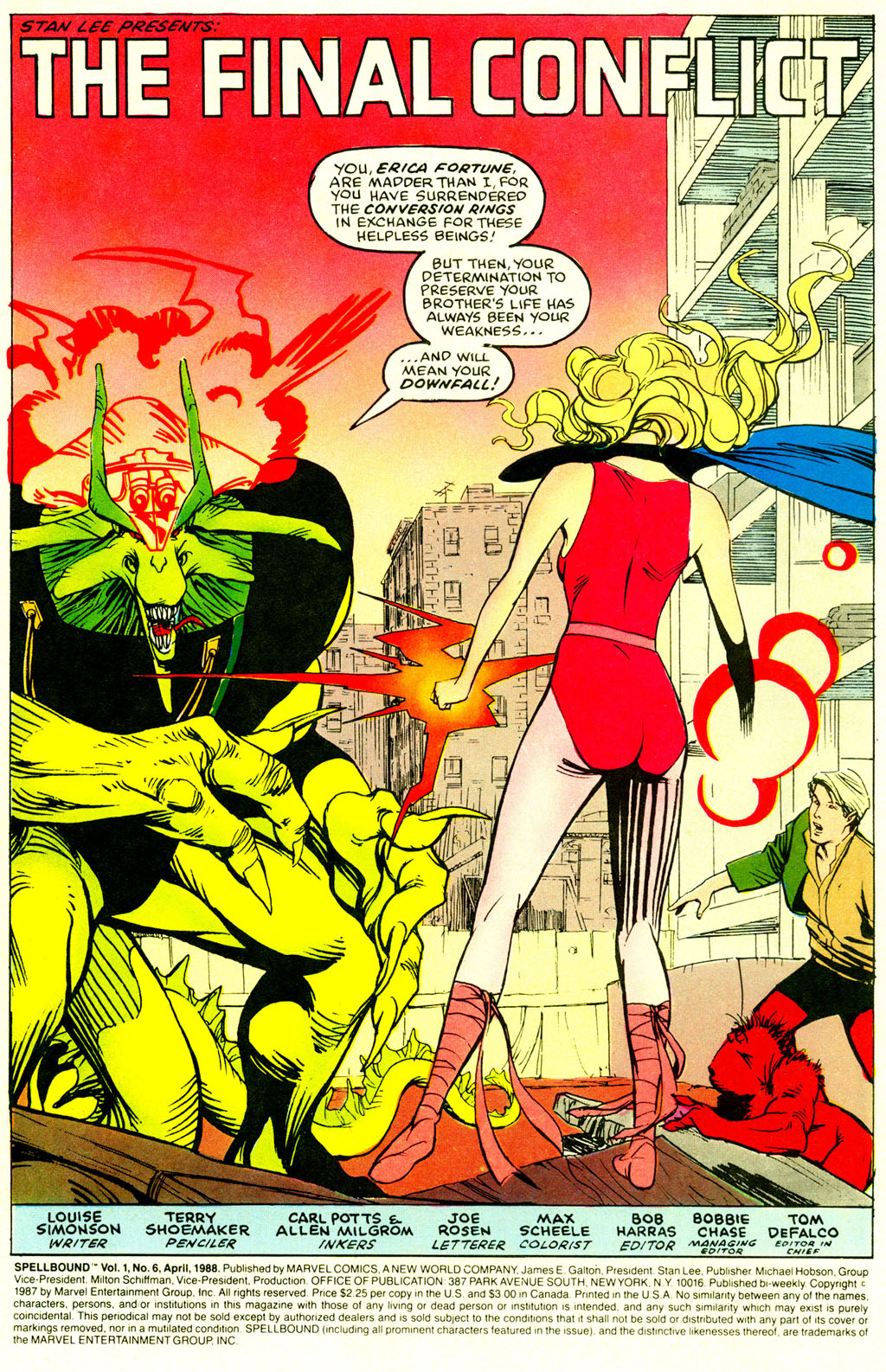 Read online Spellbound comic -  Issue #6 - 2