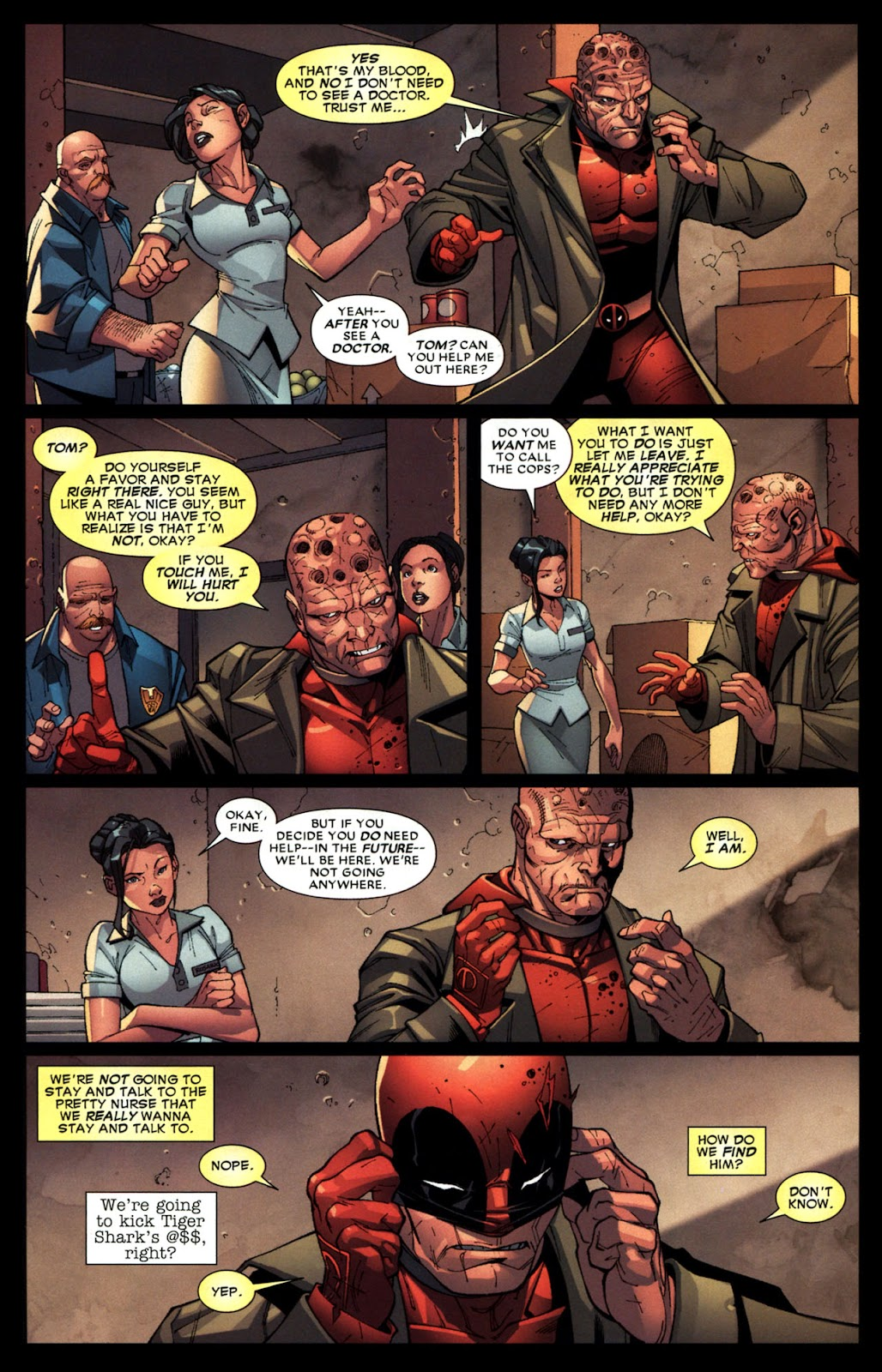Read online Deadpool (2008) comic -  Issue #6 - 11