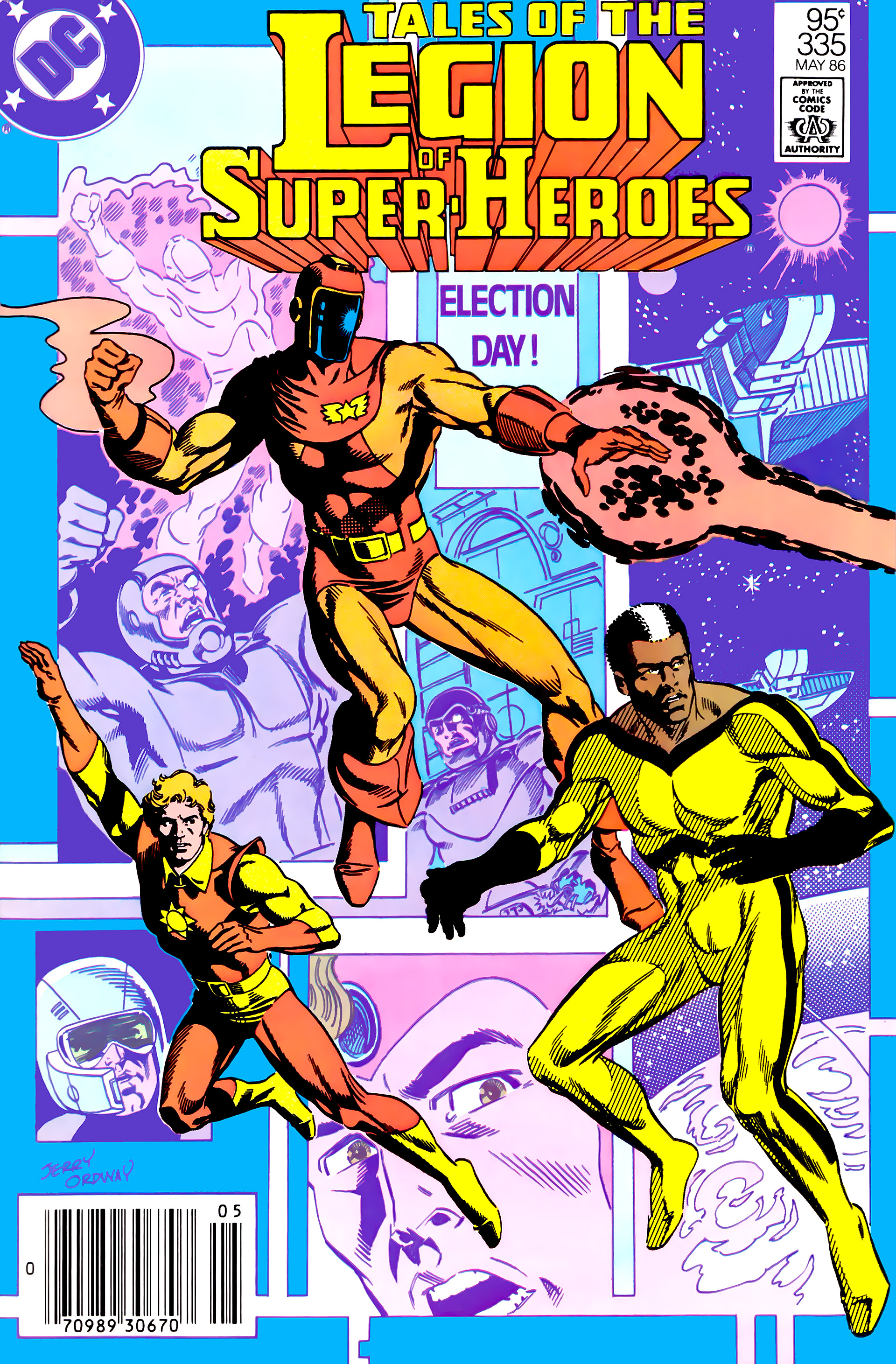 Legion of Super-Heroes (1984) 10 Page 1