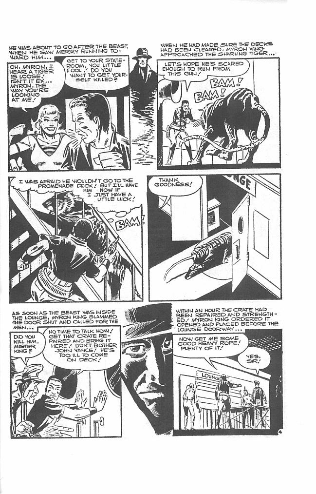 Read online Men of Mystery Comics comic -  Issue #34 - 39