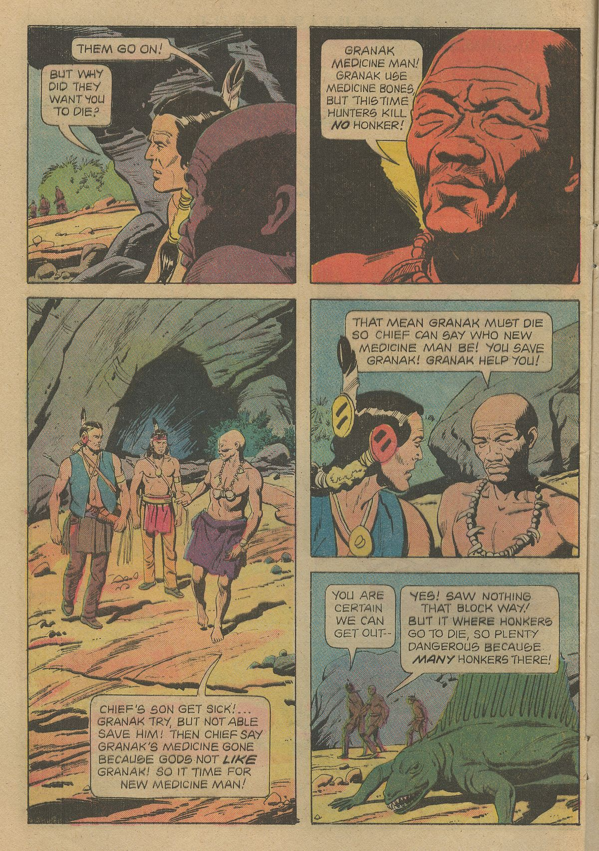 Read online Turok, Son of Stone comic -  Issue #103 - 8