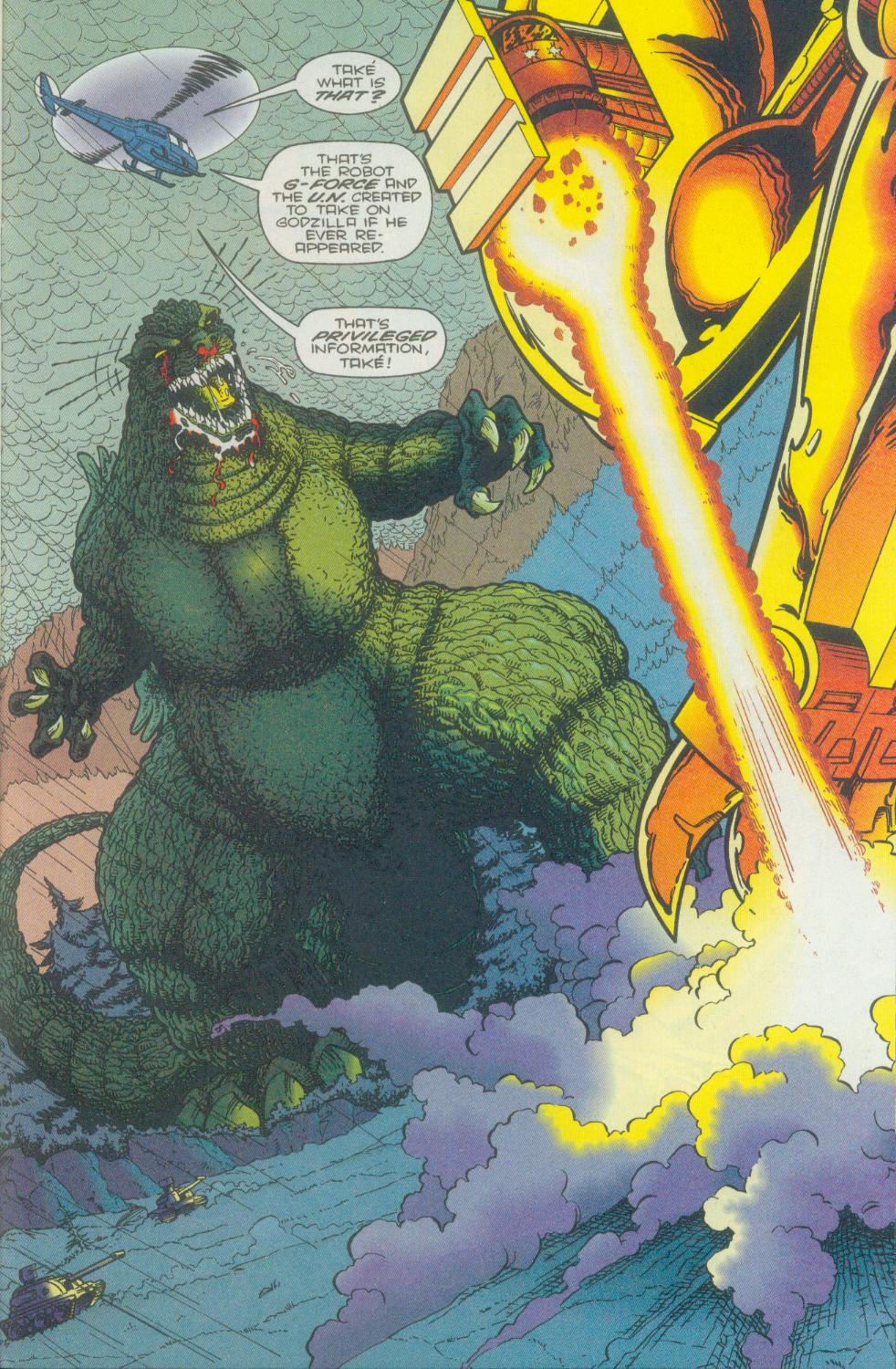 Godzilla (1995) Issue #1 #2 - English 26