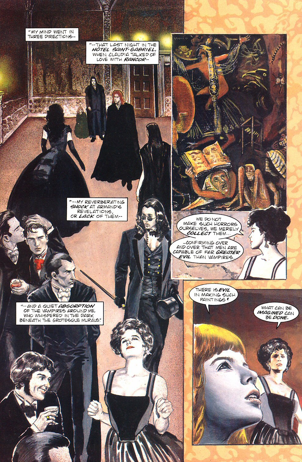 Read online Anne Rice's Interview with the Vampire comic -  Issue #8 - 31