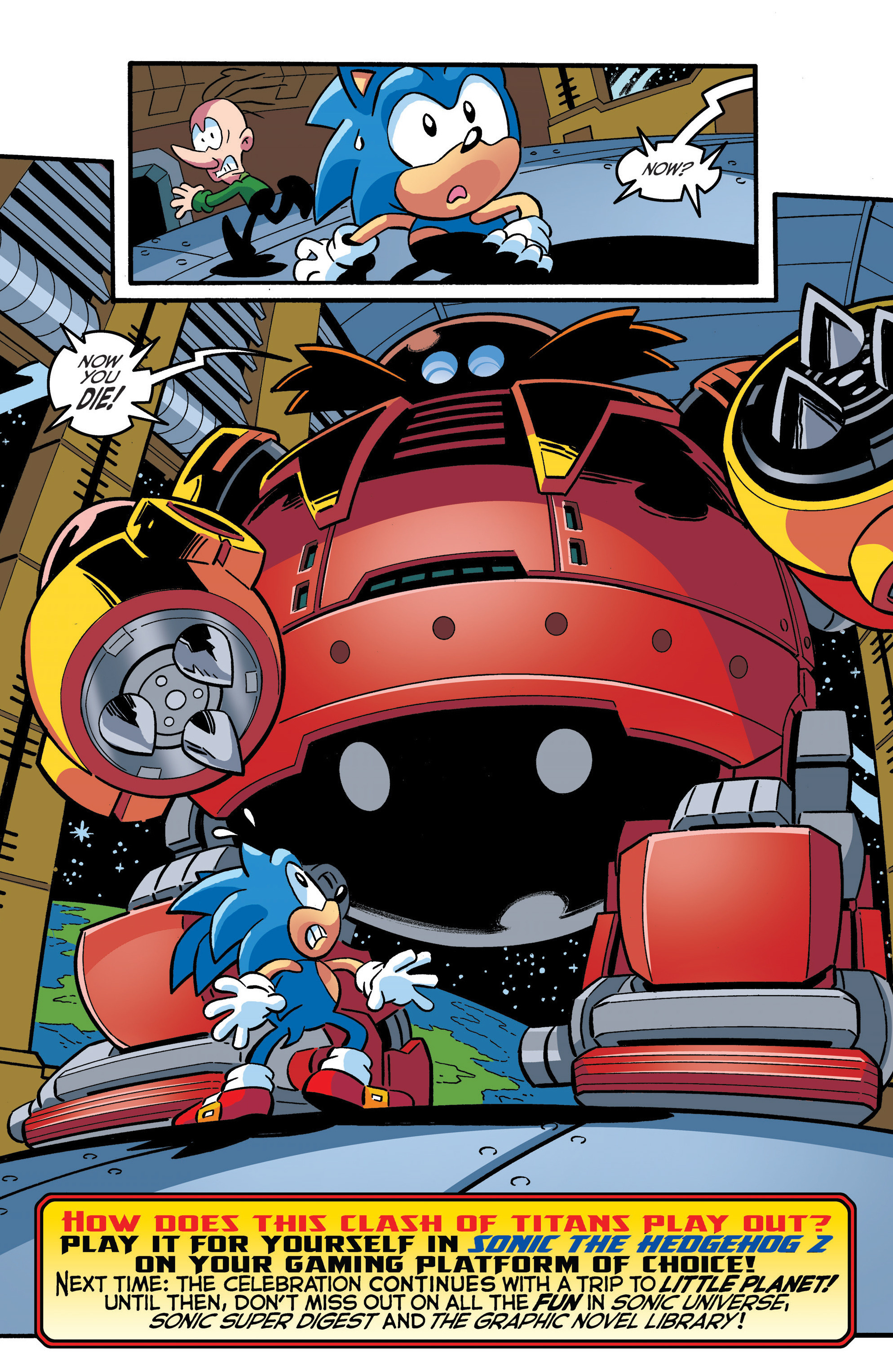 Read online Sonic The Hedgehog comic -  Issue #289 - 22