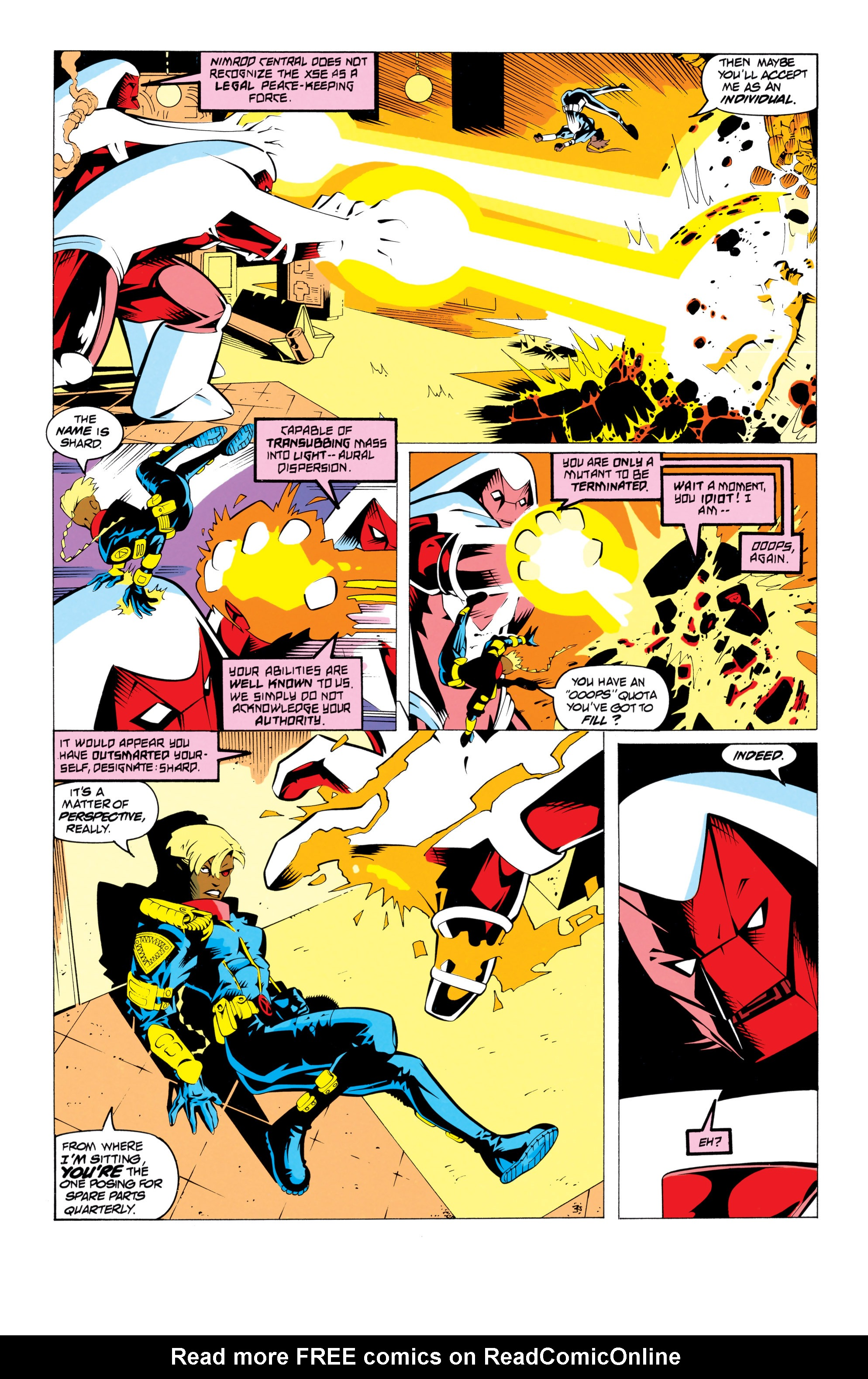 Read online Uncanny X-Men (1963) comic -  Issue # _Annual 17 - 10