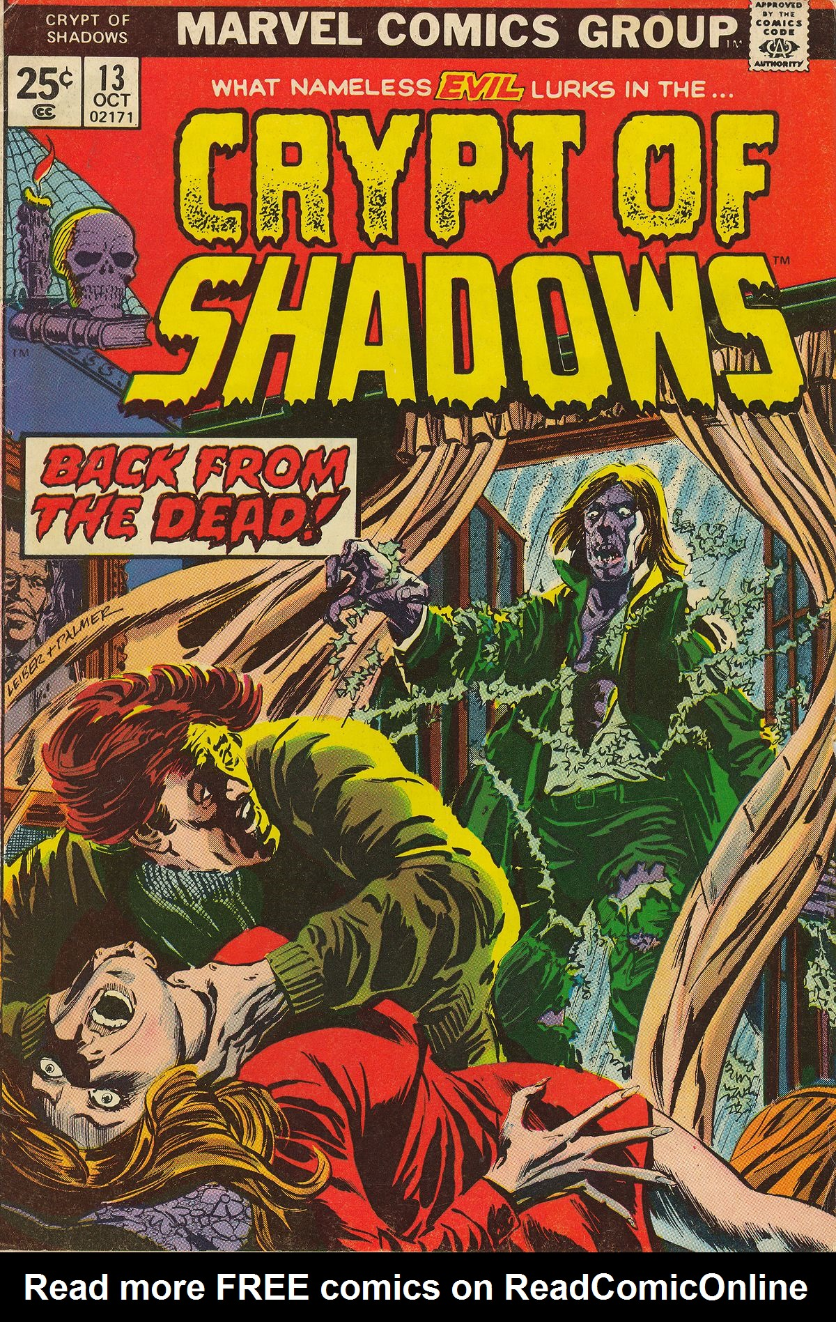 Read online Crypt of Shadows comic -  Issue #13 - 1