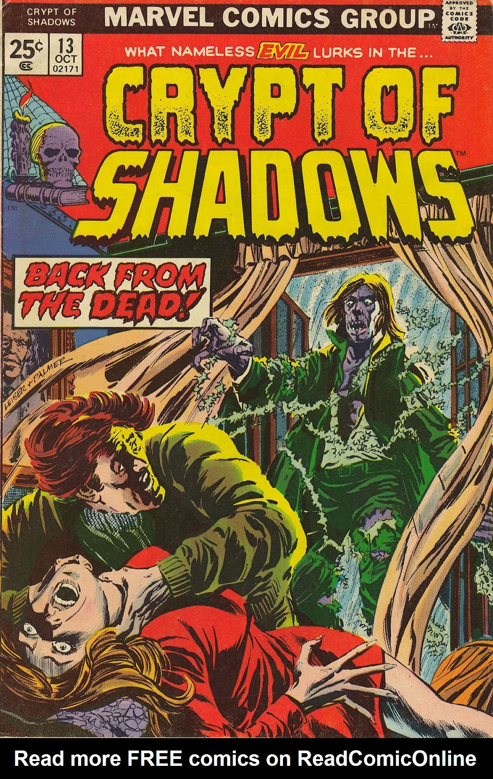 Crypt of Shadows (1973) issue 13 - Page 1