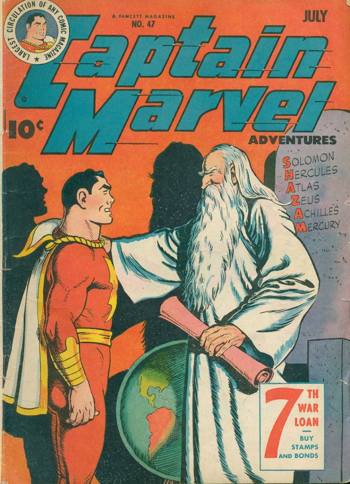 Captain Marvel Adventures 47 Page 1