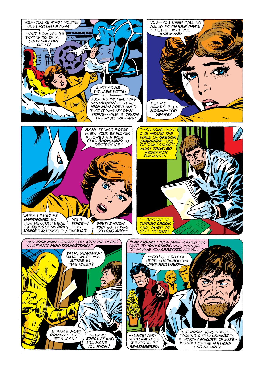 Read online Marvel Masterworks: The Invincible Iron Man comic -  Issue # TPB 11 (Part 2) - 7