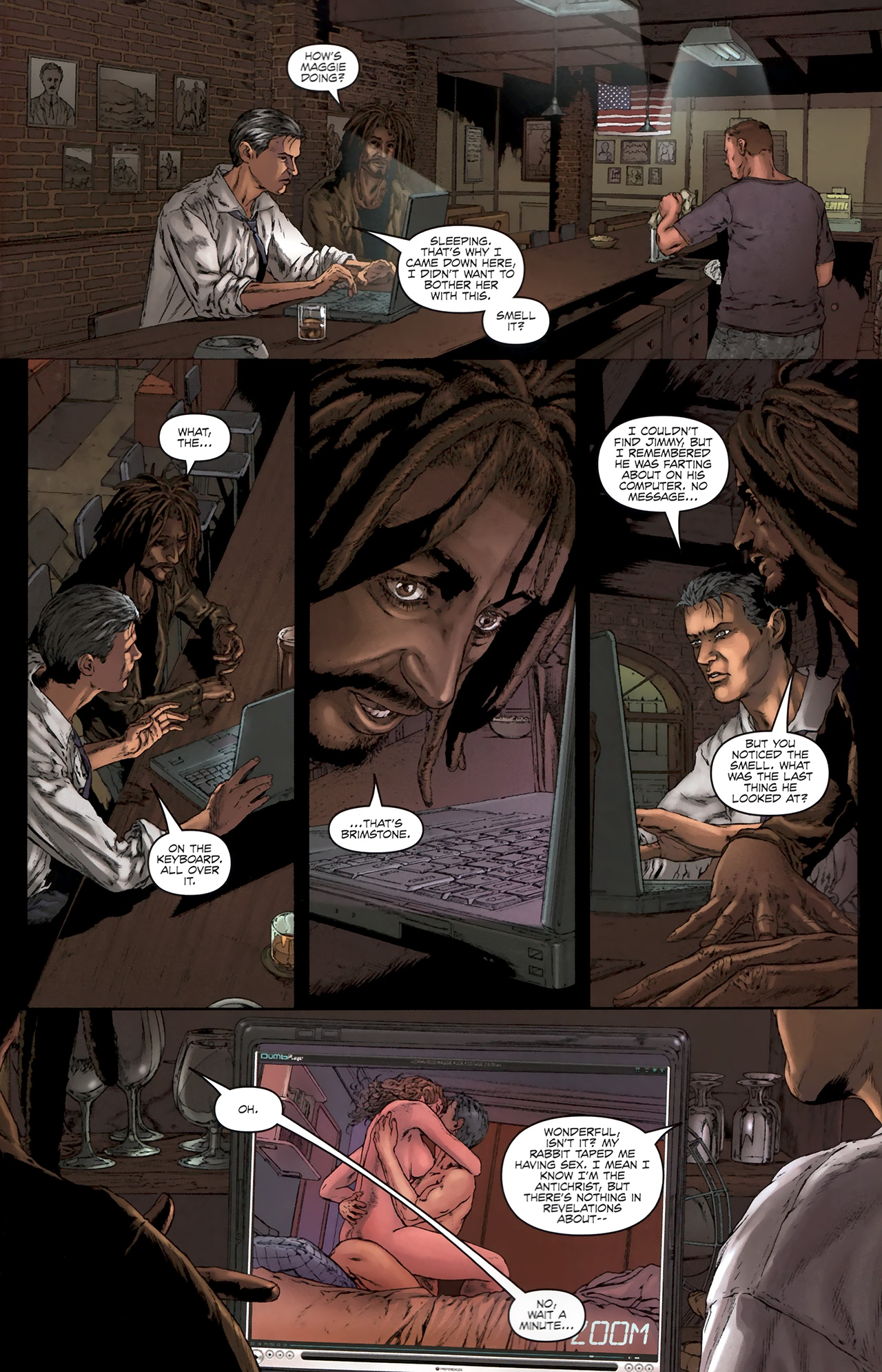 Read online Chronicles of Wormwood: The Last Battle comic -  Issue #5 - 10