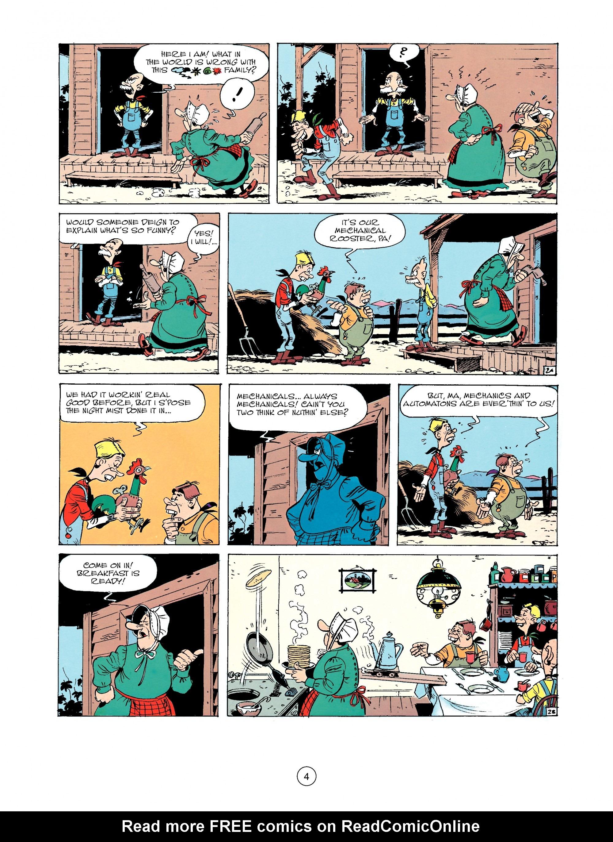Read online A Lucky Luke Adventure comic -  Issue #33 - 4
