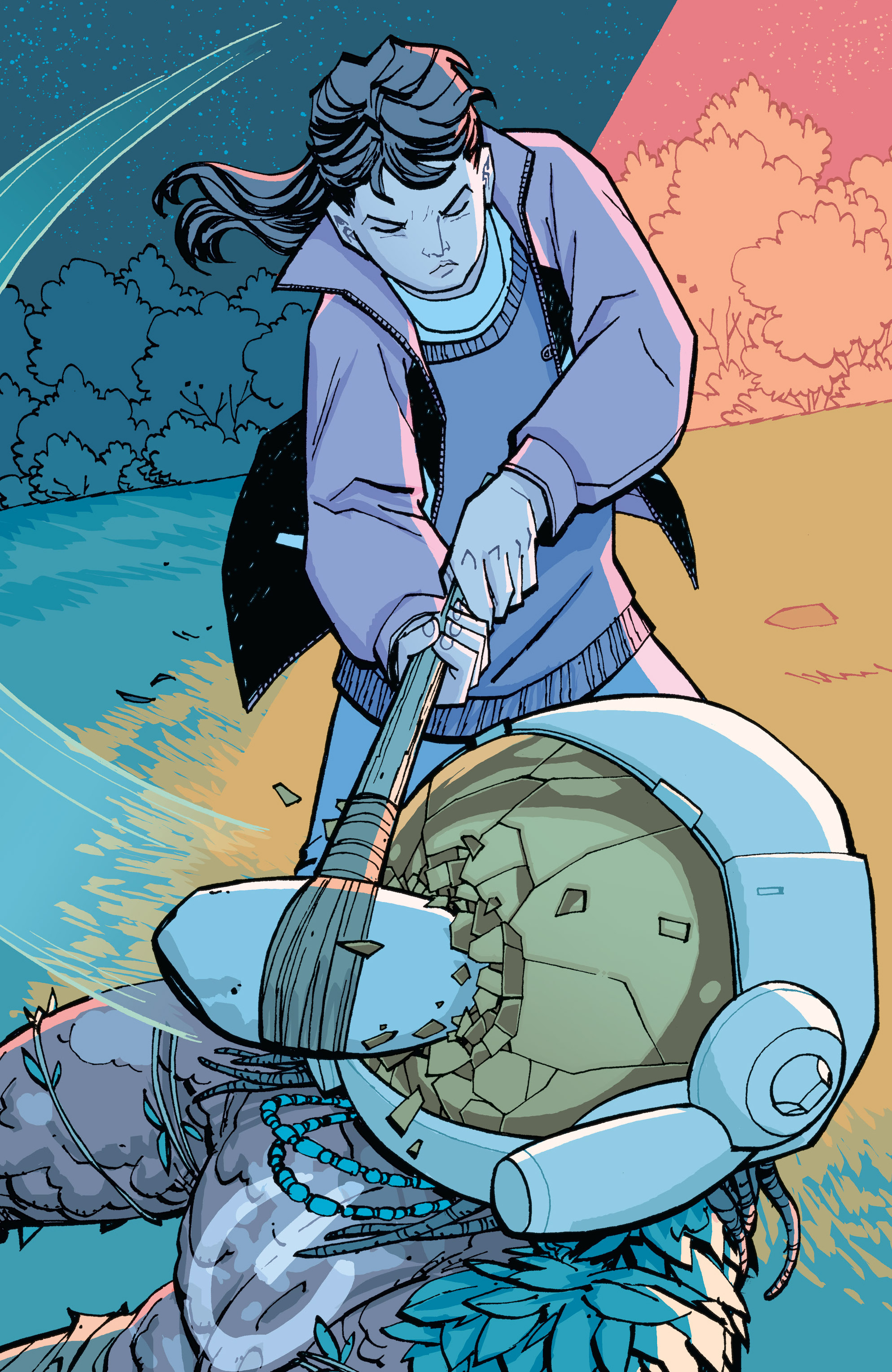 Read online Paper Girls comic -  Issue #15 - 20