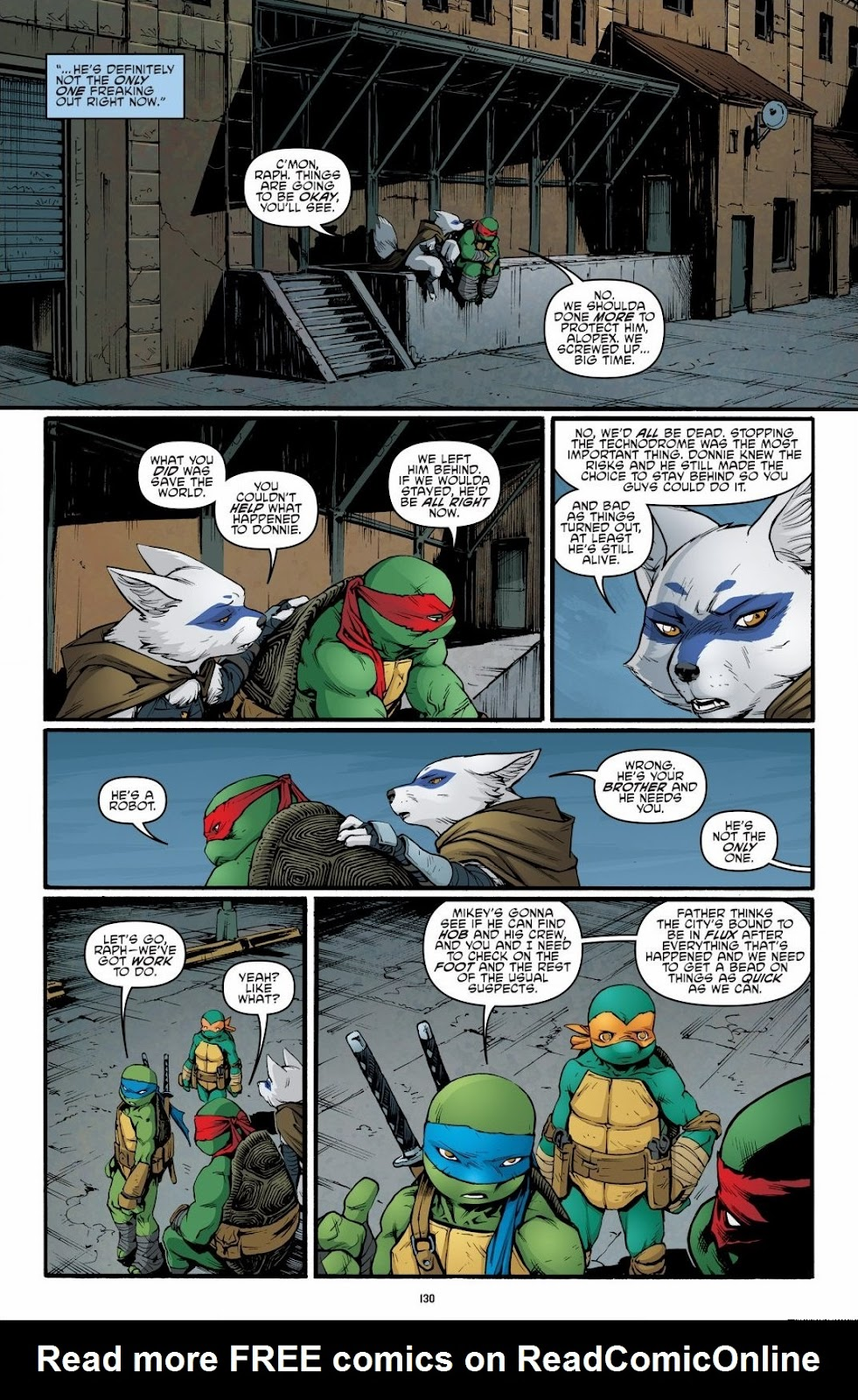 Read online Teenage Mutant Ninja Turtles: The IDW Collection comic -  Issue # TPB 6 (Part 2) - 28