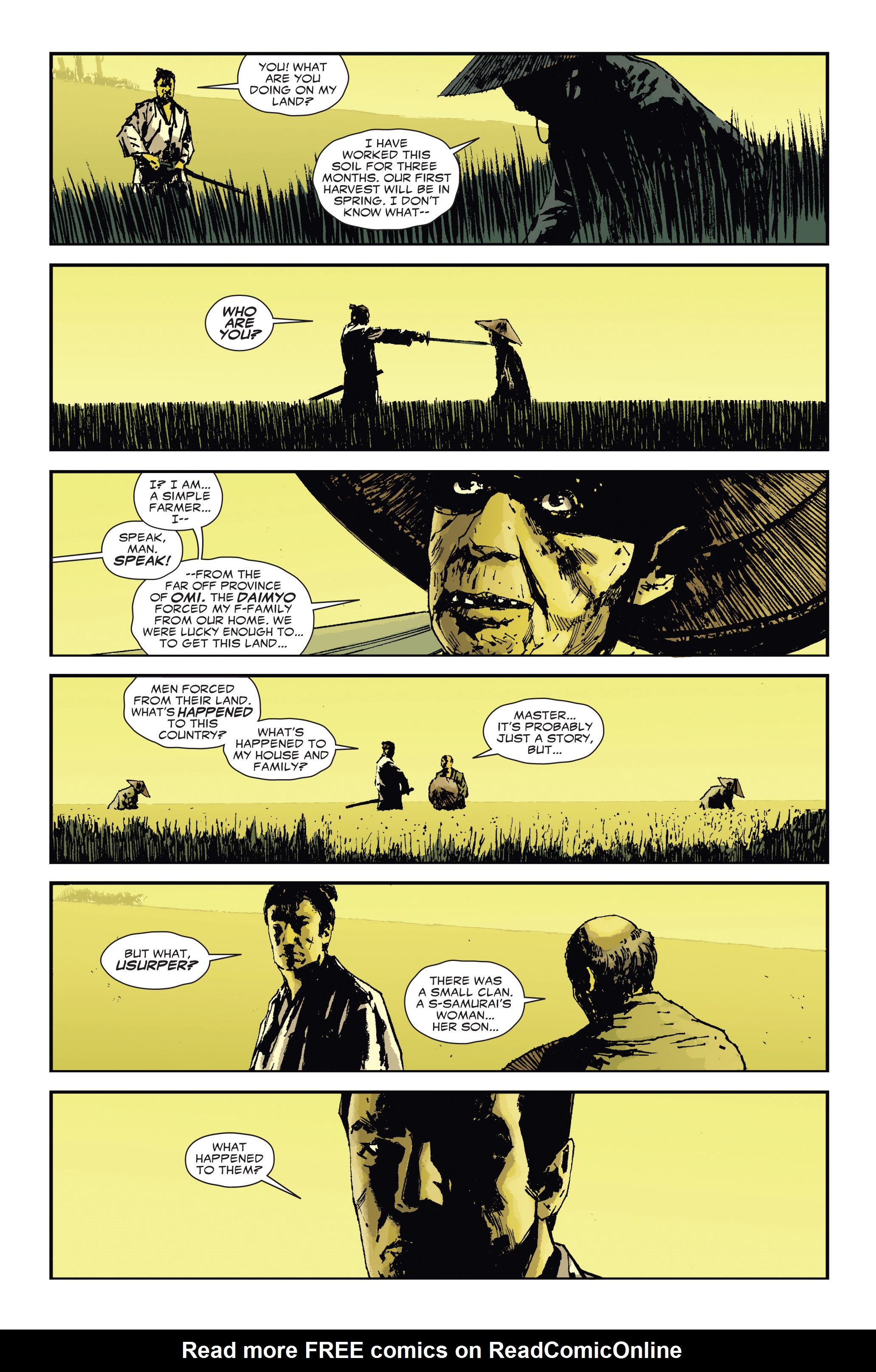 Read online 5 Ronin (2011) comic -  Issue #3 - 6