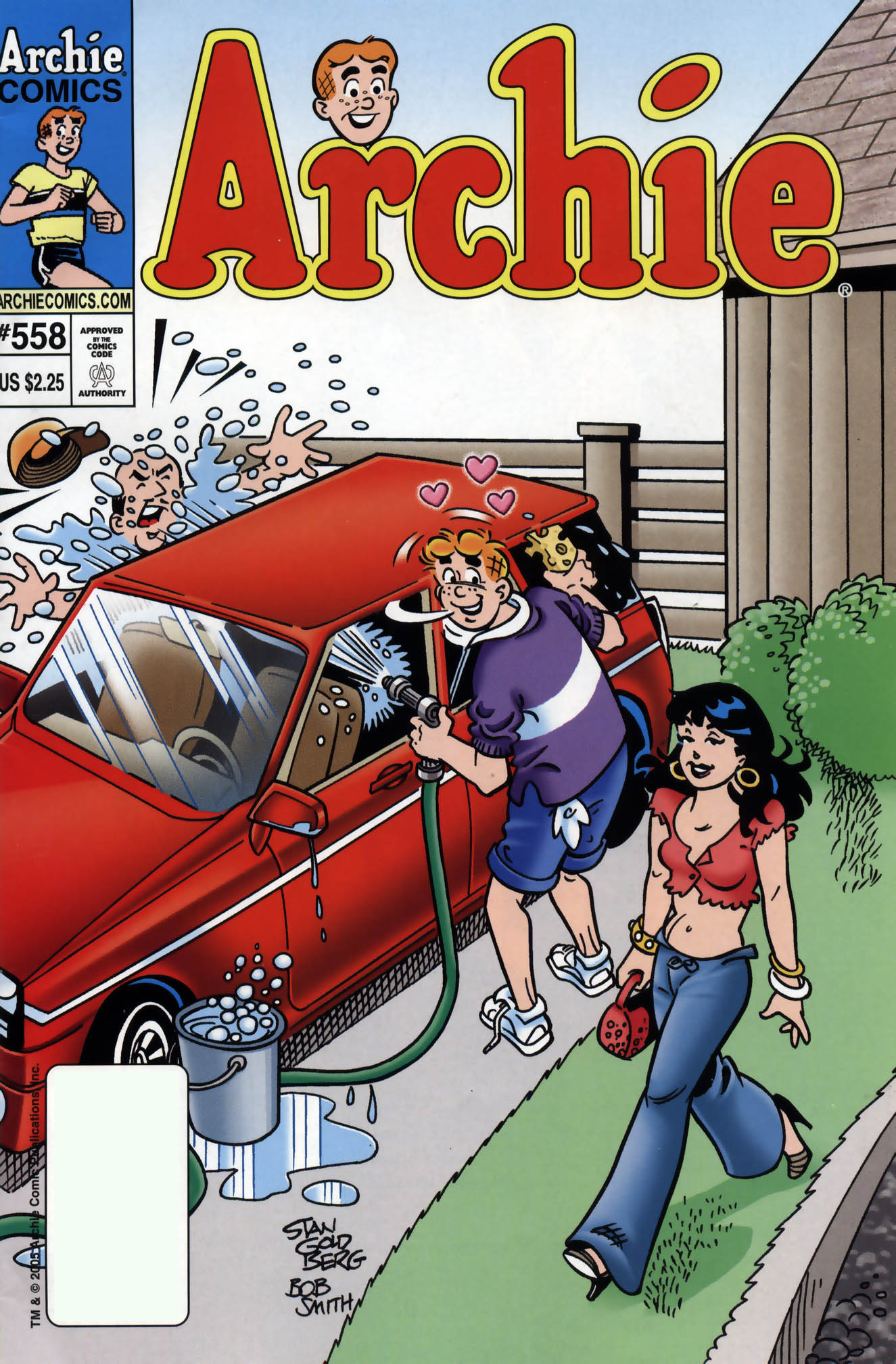 Read online Archie (1960) comic -  Issue #558 - 1